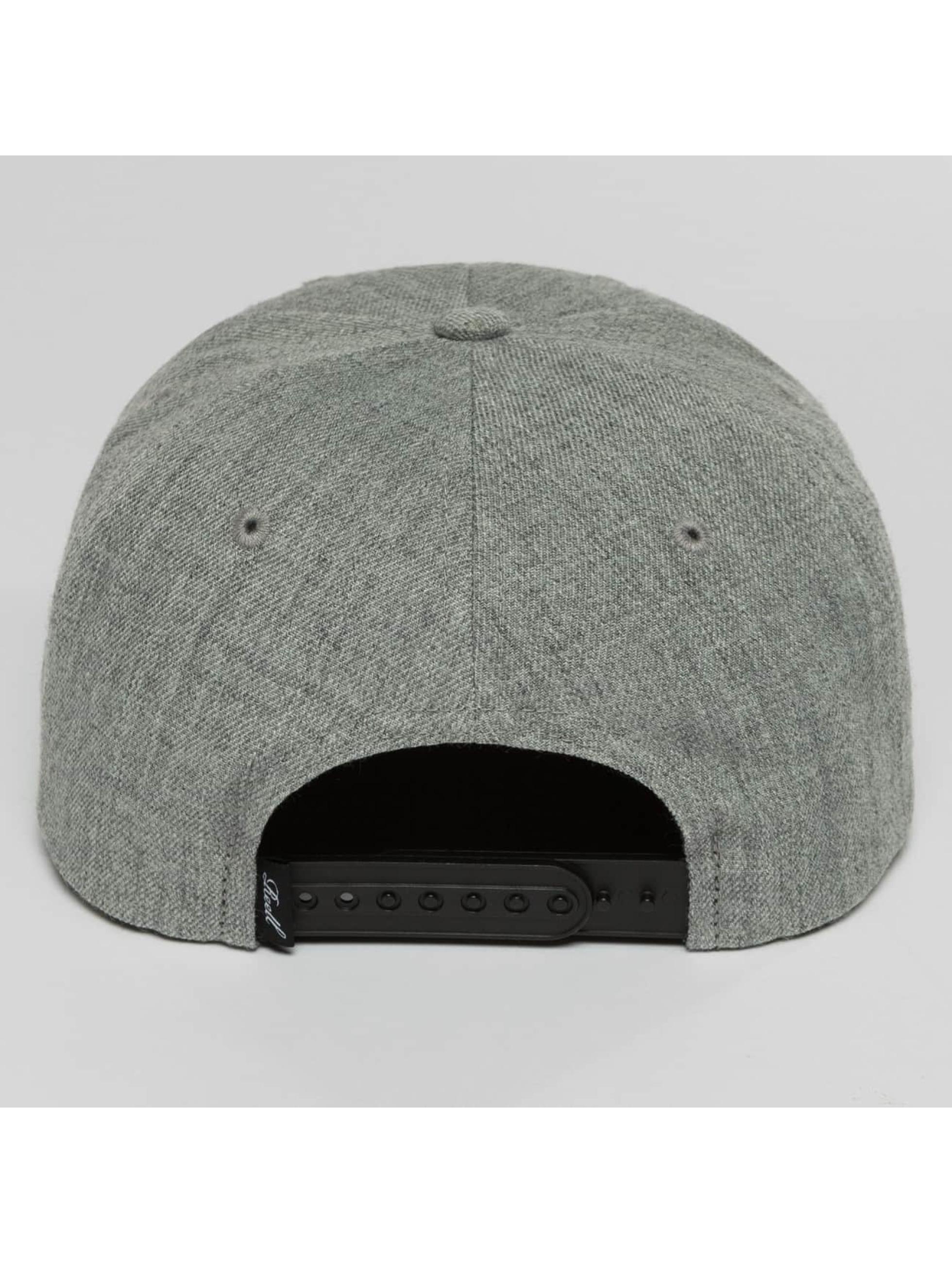 Reell Jeans Snapback Caps Pitchout šedá