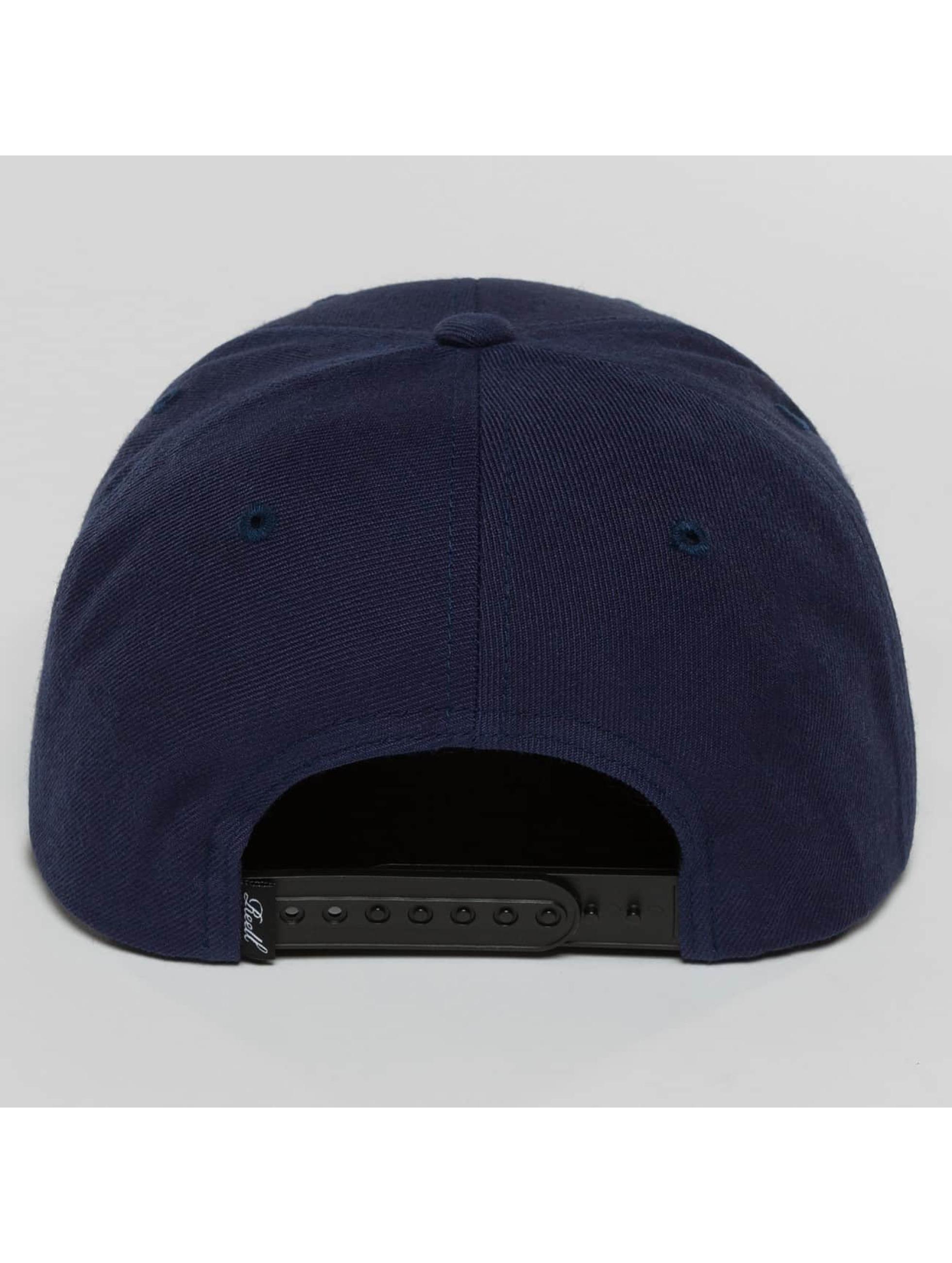 Reell Jeans Snapback Caps 1402004050431 modrý