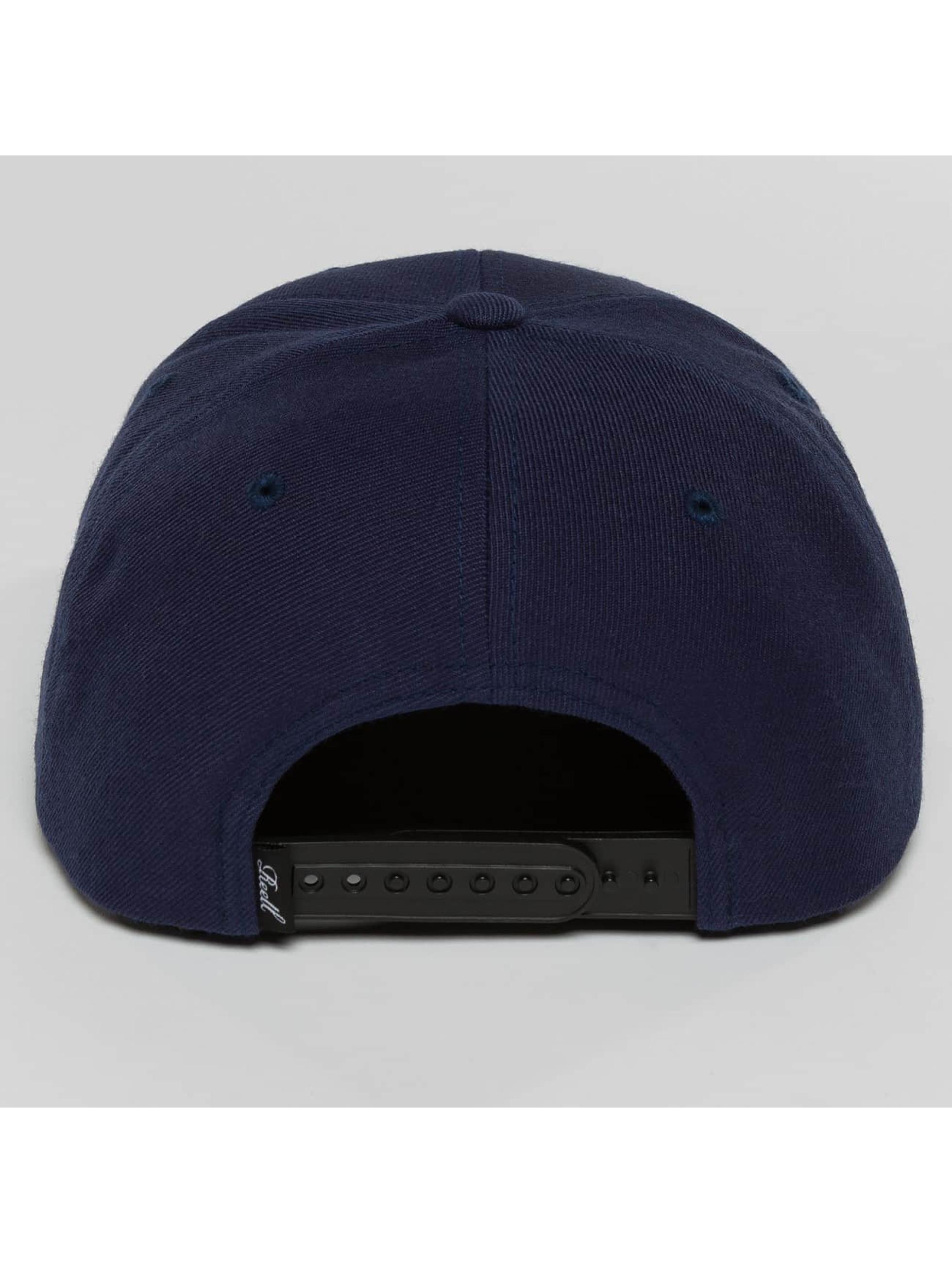 Reell Jeans Snapback Caps Base sininen
