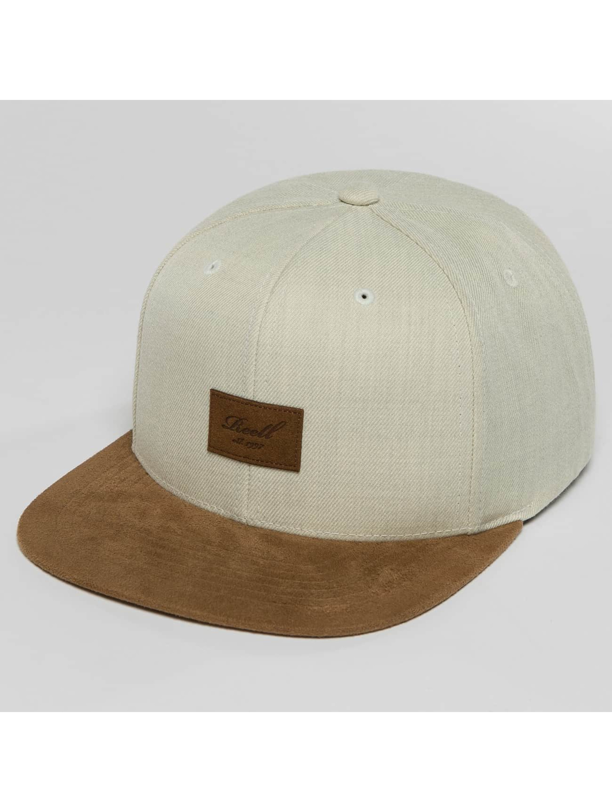Reell Jeans Snapback Caps Suede szary