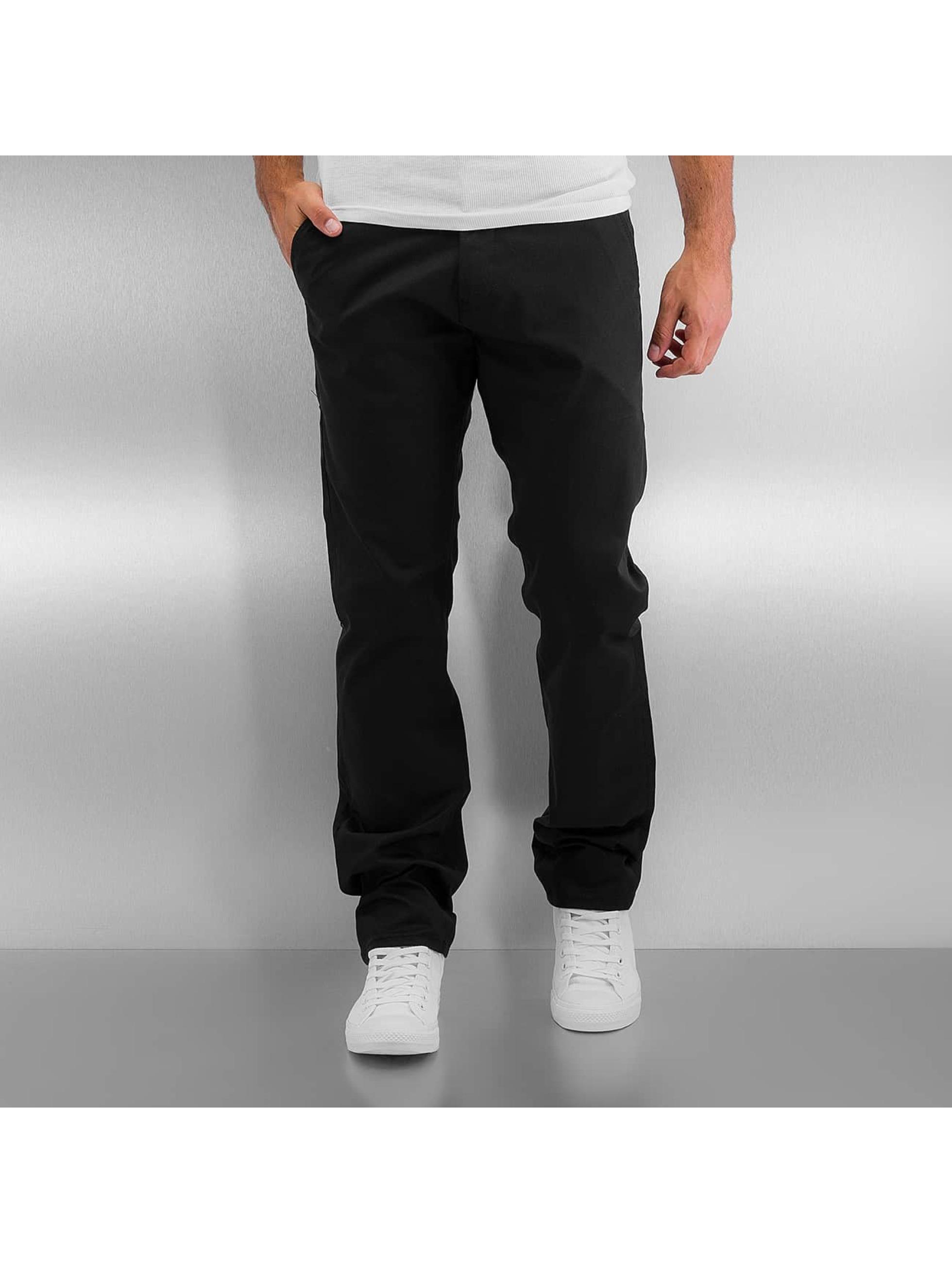 Reell Jeans Stoffbukser Straight Flex svart
