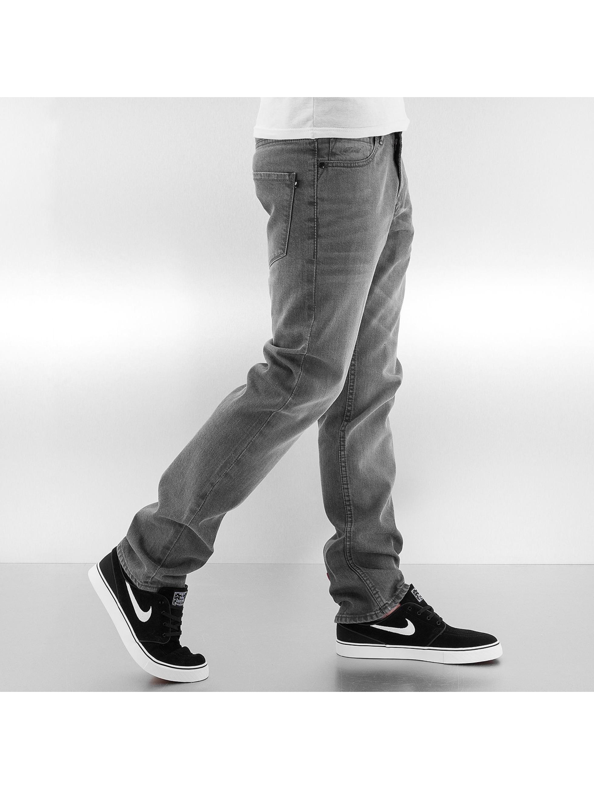 Reell Jeans Straight Fit farkut Trigger harmaa