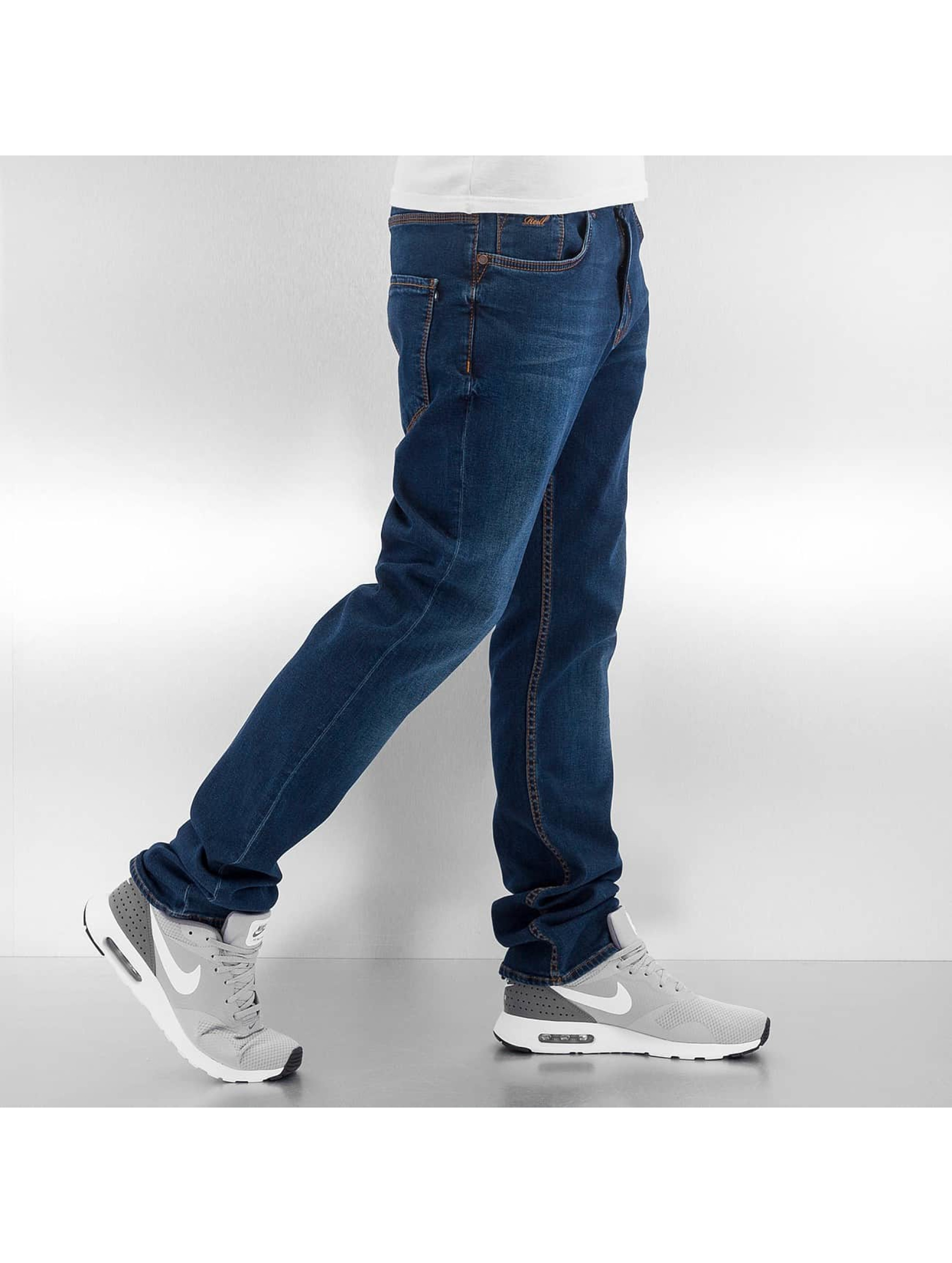 Reell Jeans Straight Fit Jeans Trigger blau