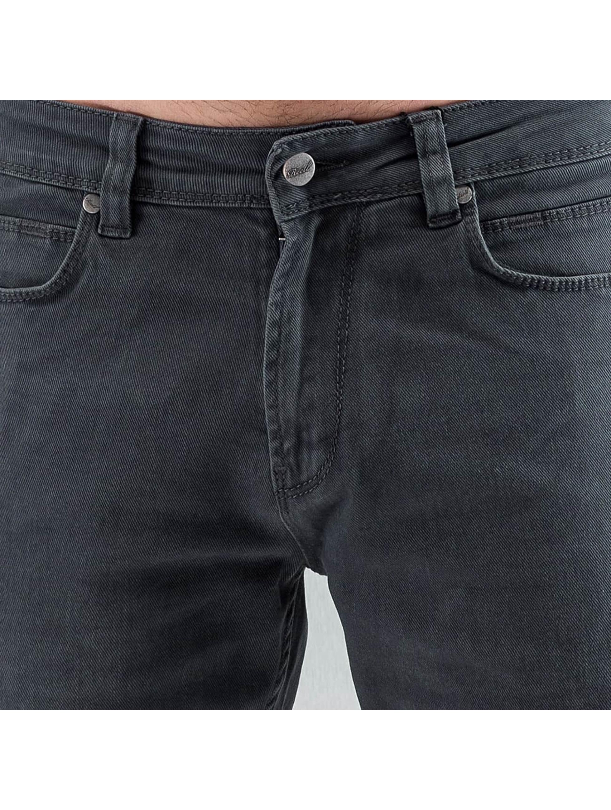 Reell Jeans Straight Fit Jeans Razor II grå