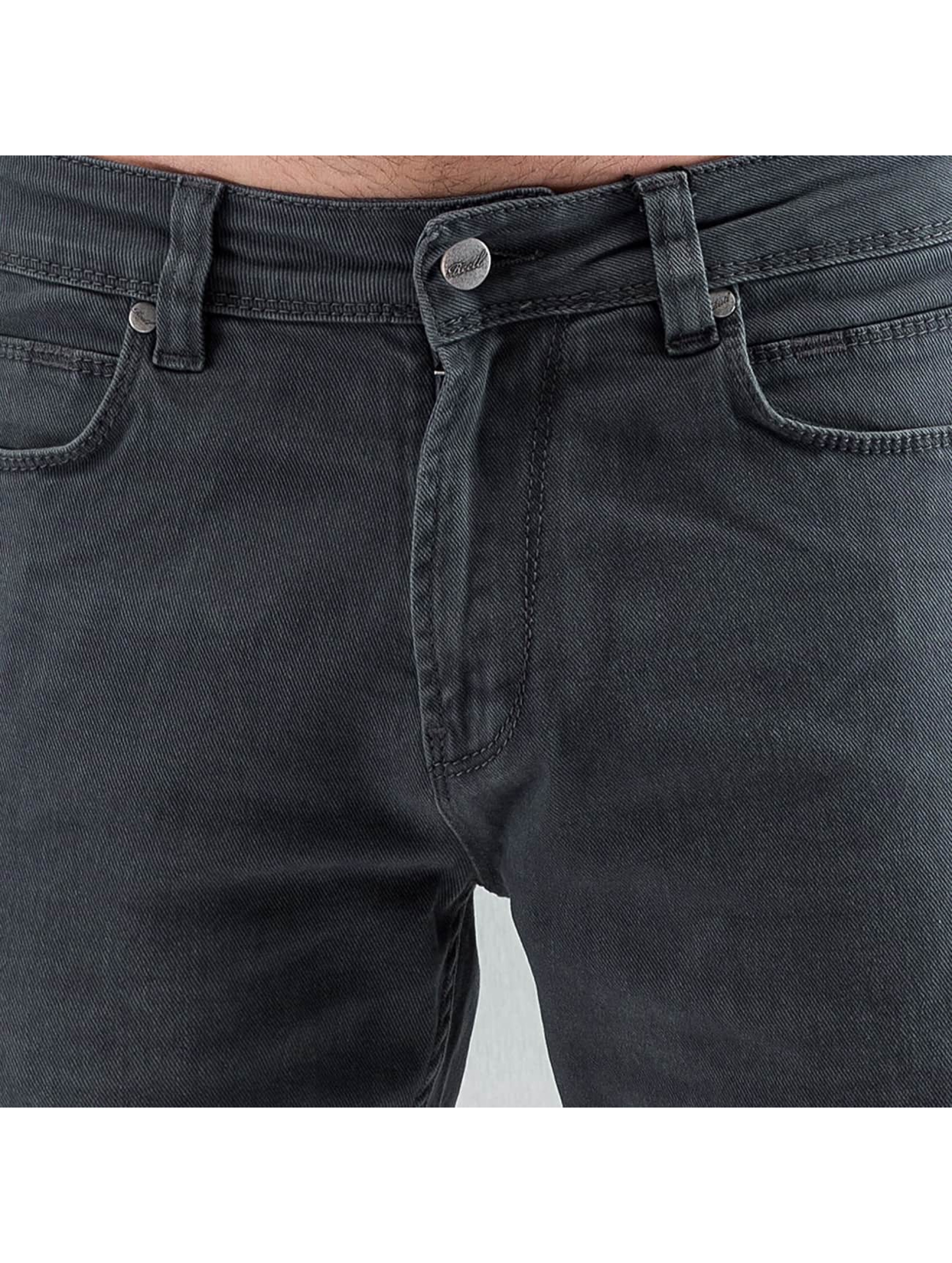 Reell Jeans Straight fit jeans Razor II grijs