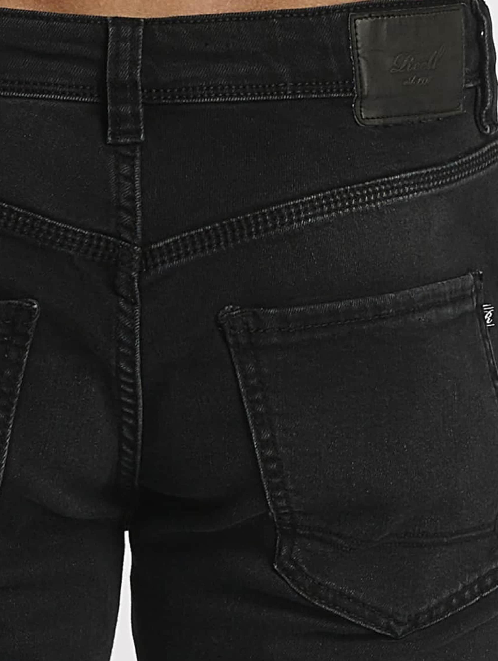 Reell Jeans Straight fit jeans Nova II zwart