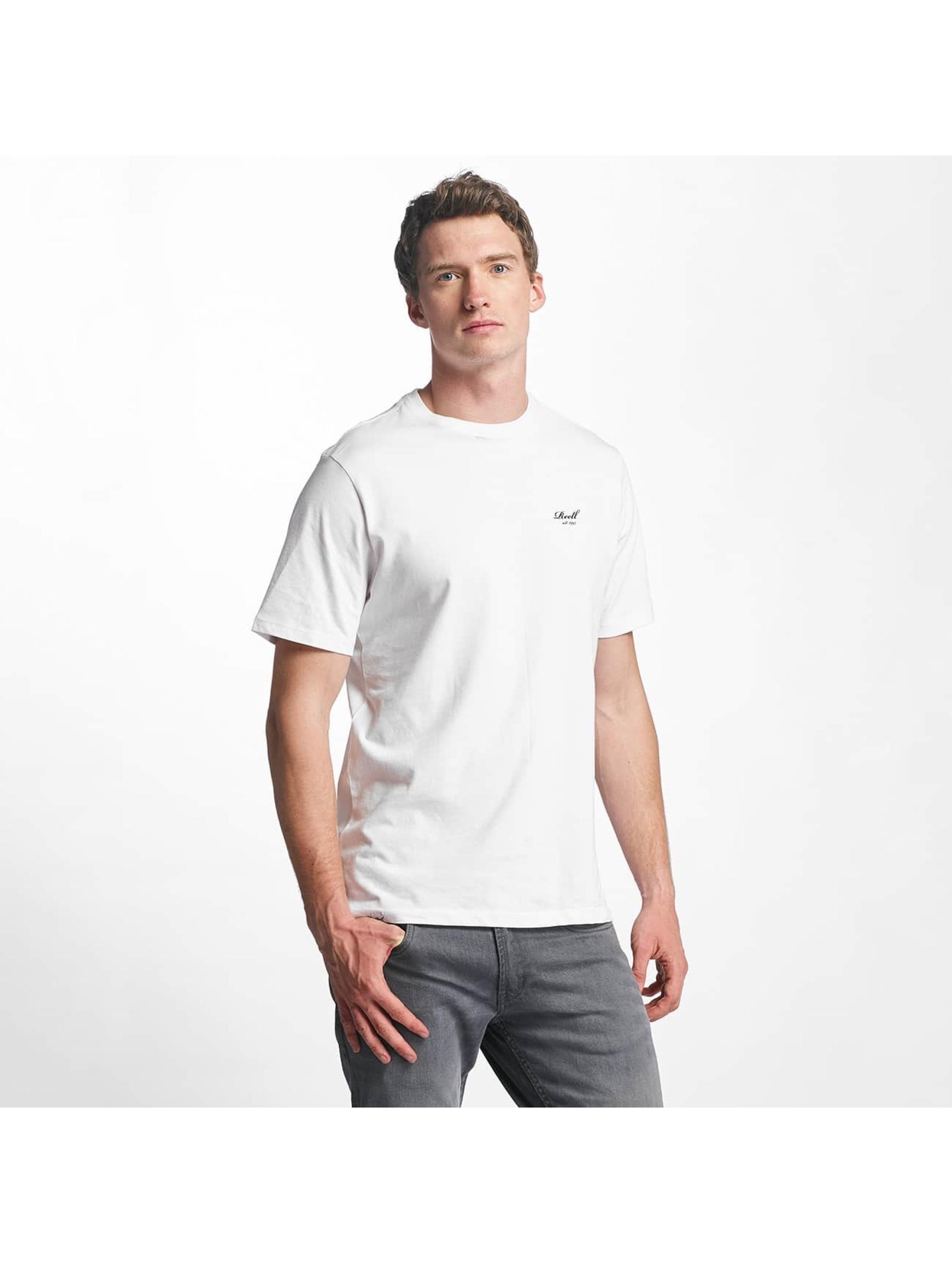 Reell Jeans T-Shirt Small Script blanc