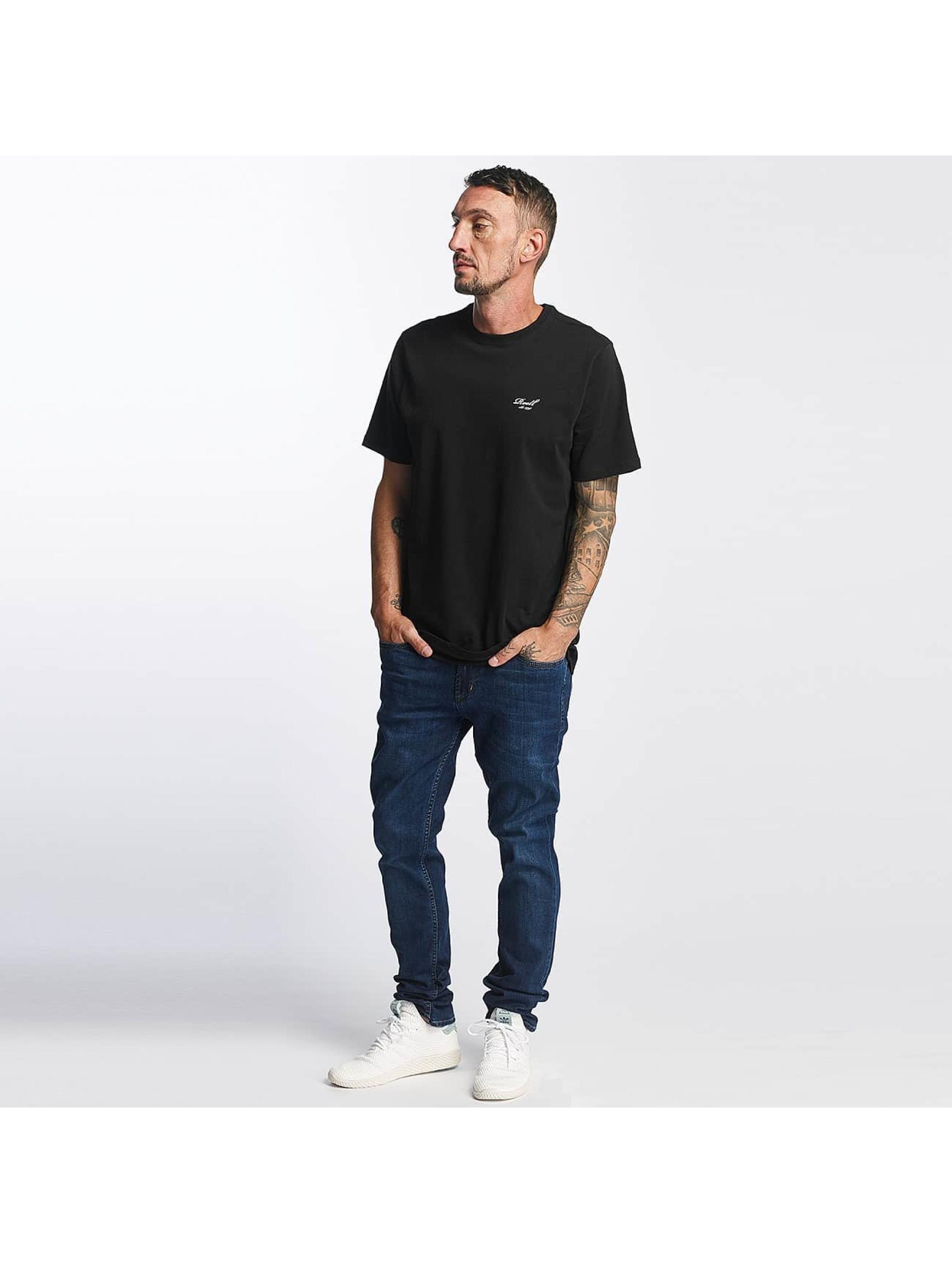 Reell Jeans t-shirt Small Script zwart