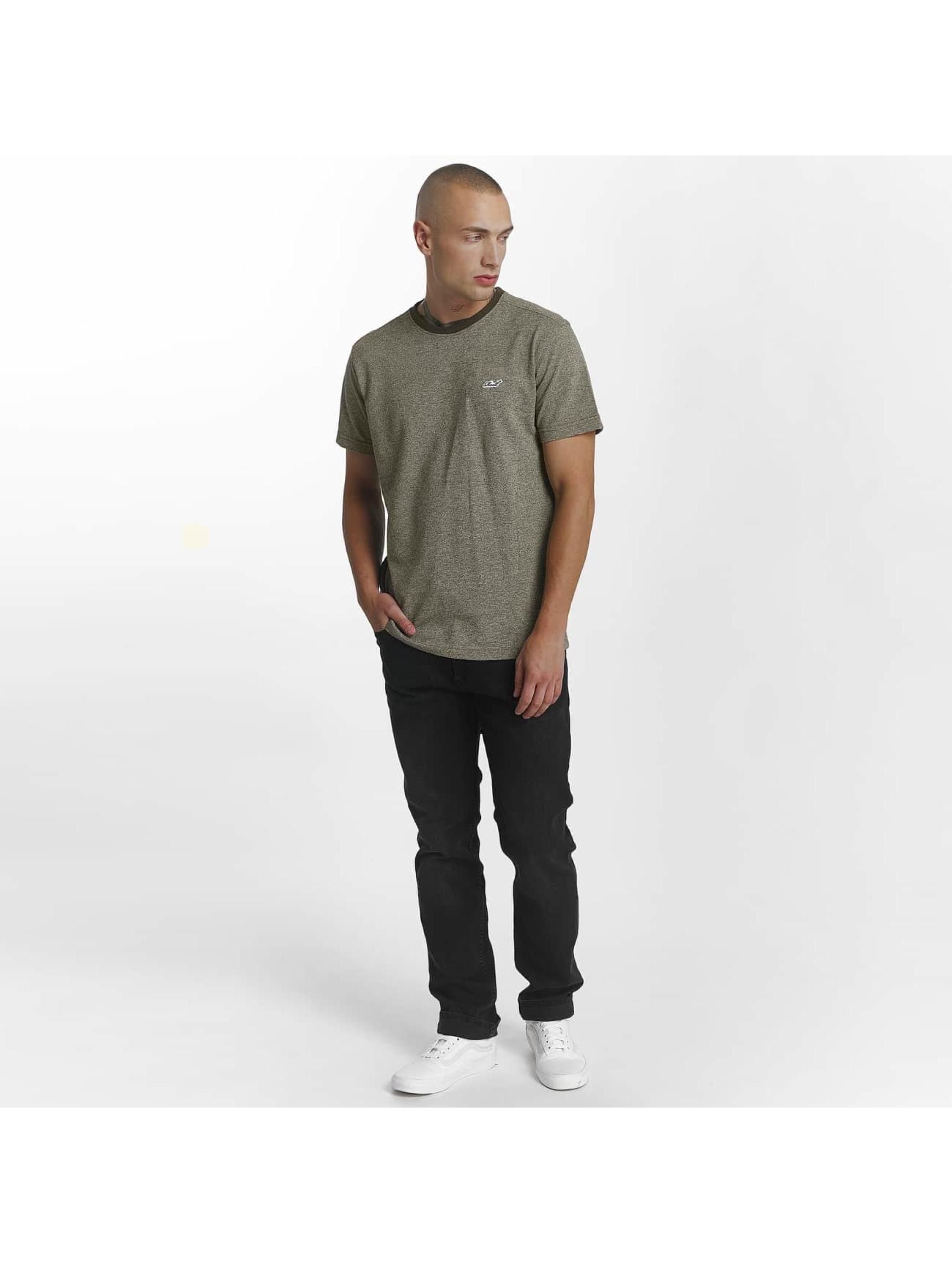 Reell Jeans Trika Pique olivový