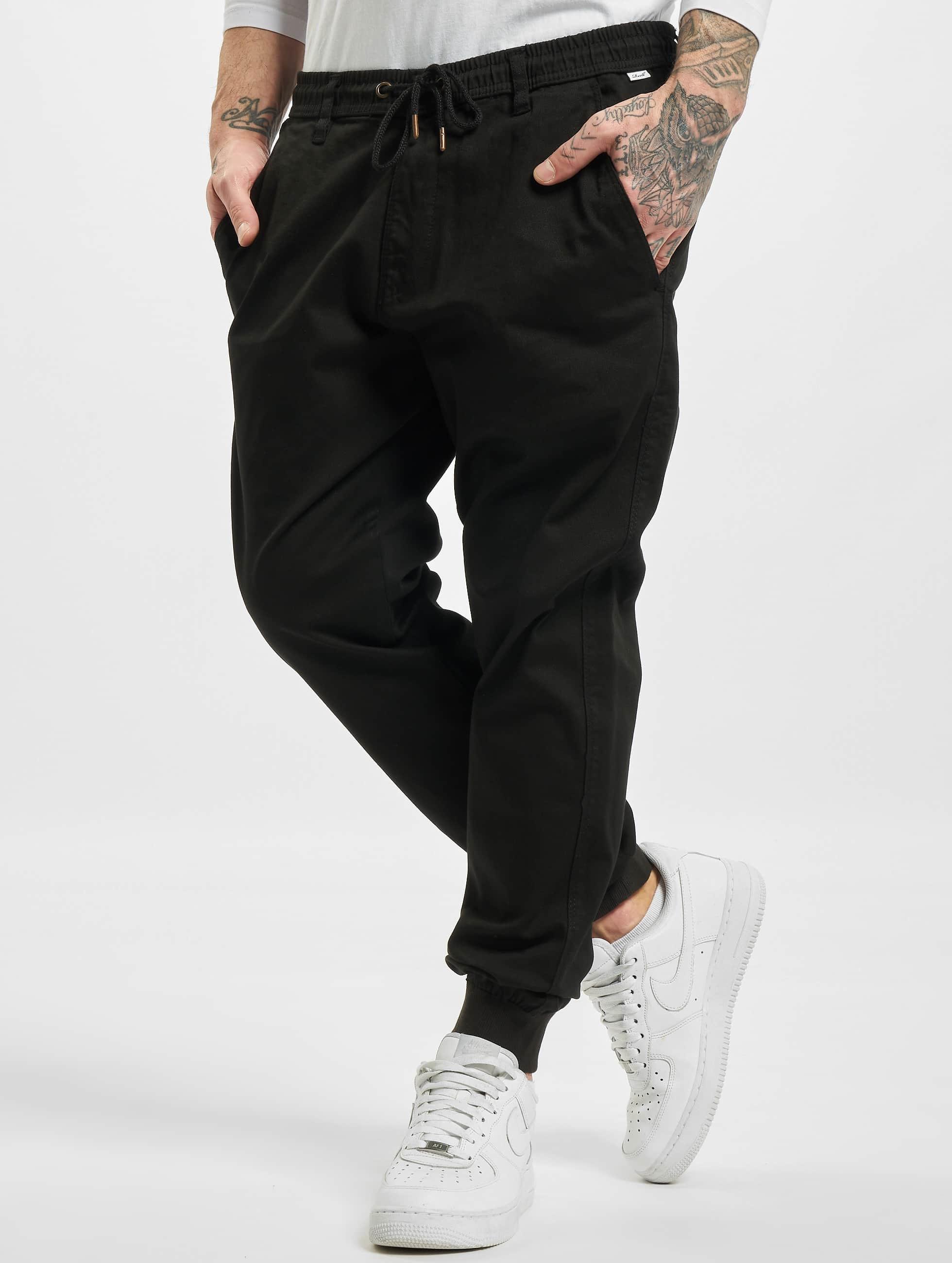 Reell Jeans Verryttelyhousut Reflex Rib musta