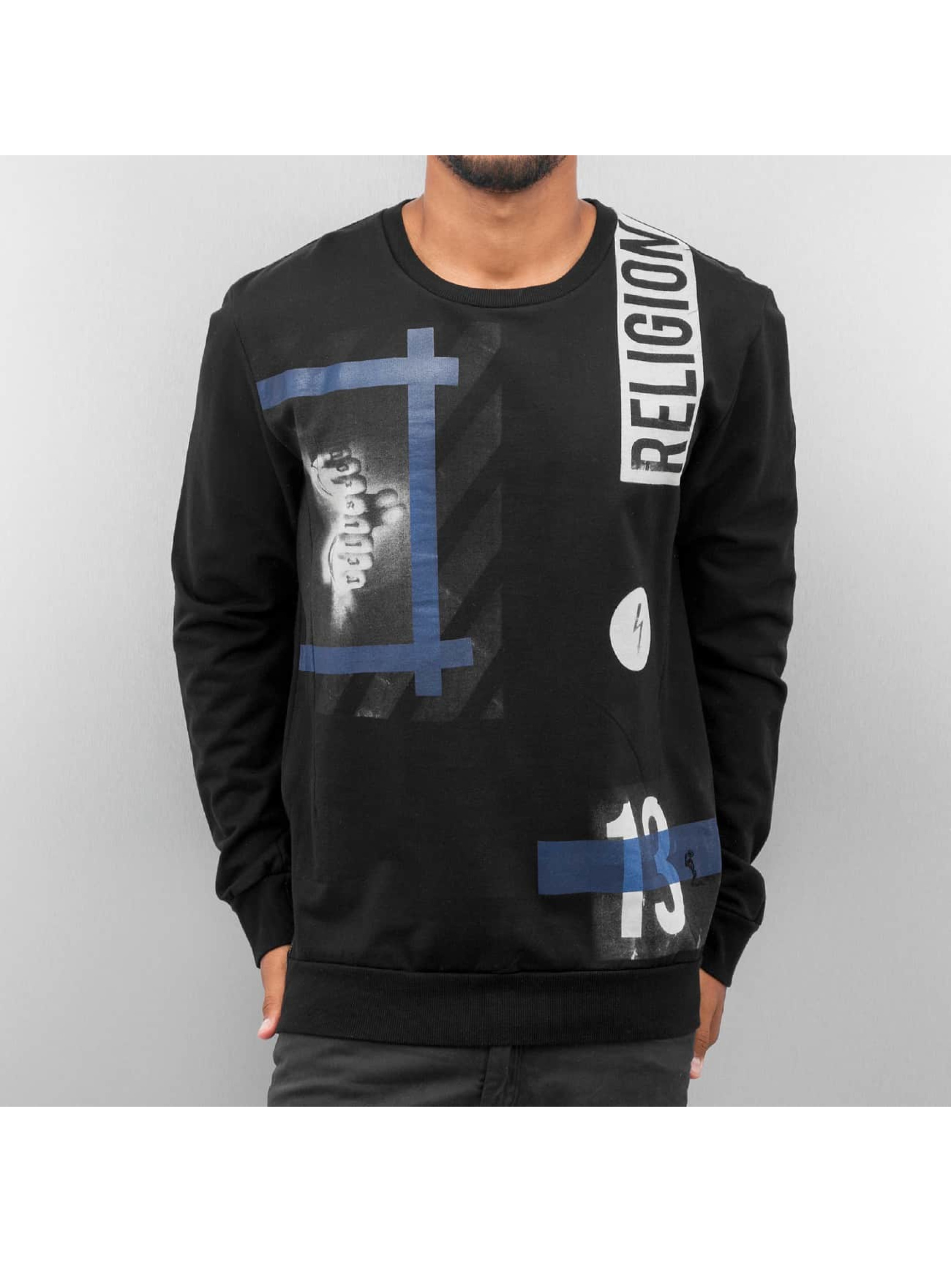 Religion Sweat & Pull Blue Hazardous noir