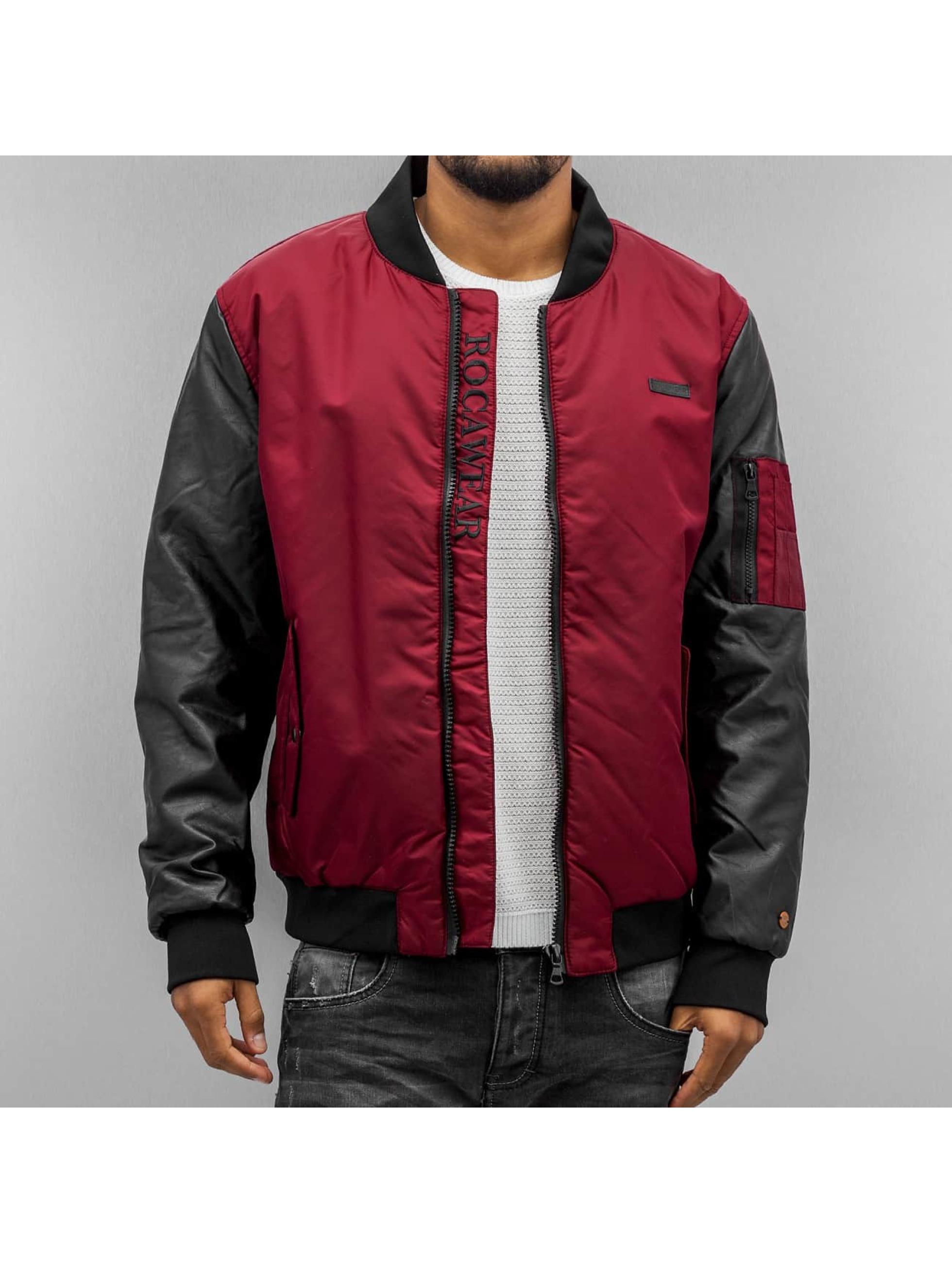 Rocawear Куртка-бомбардир Bomber красный