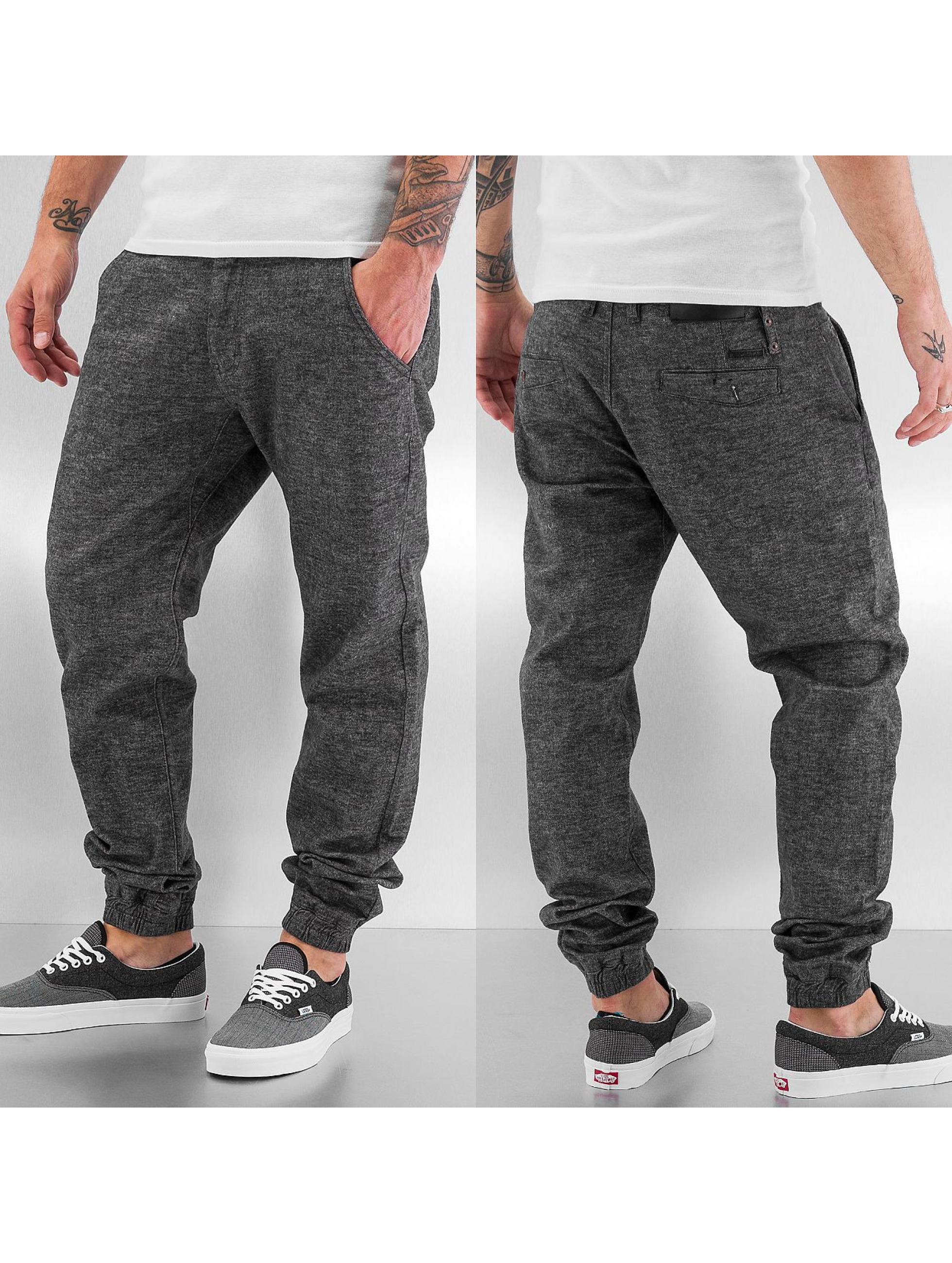 Rocawear Чинос Non Denim Jogger Fit серый
