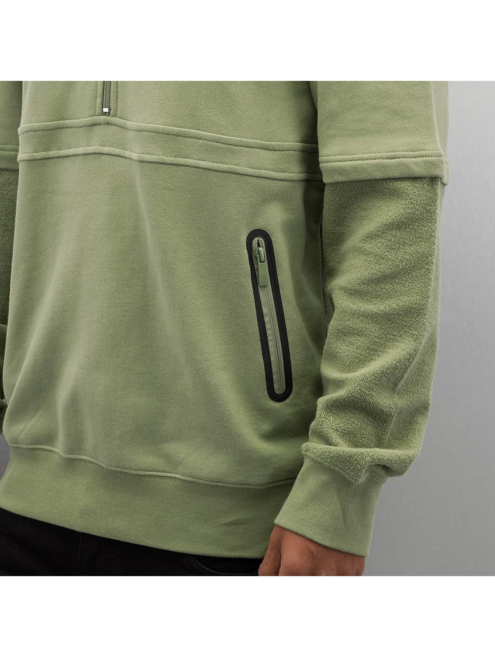 Rocawear Bluzy z kapturem Thur oliwkowy