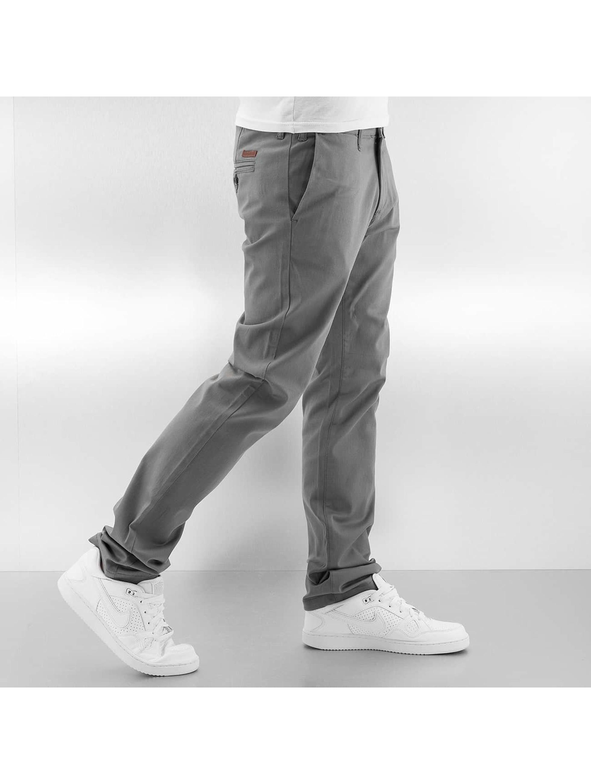 Rocawear Chinot/Kangashousut Slim Fit harmaa