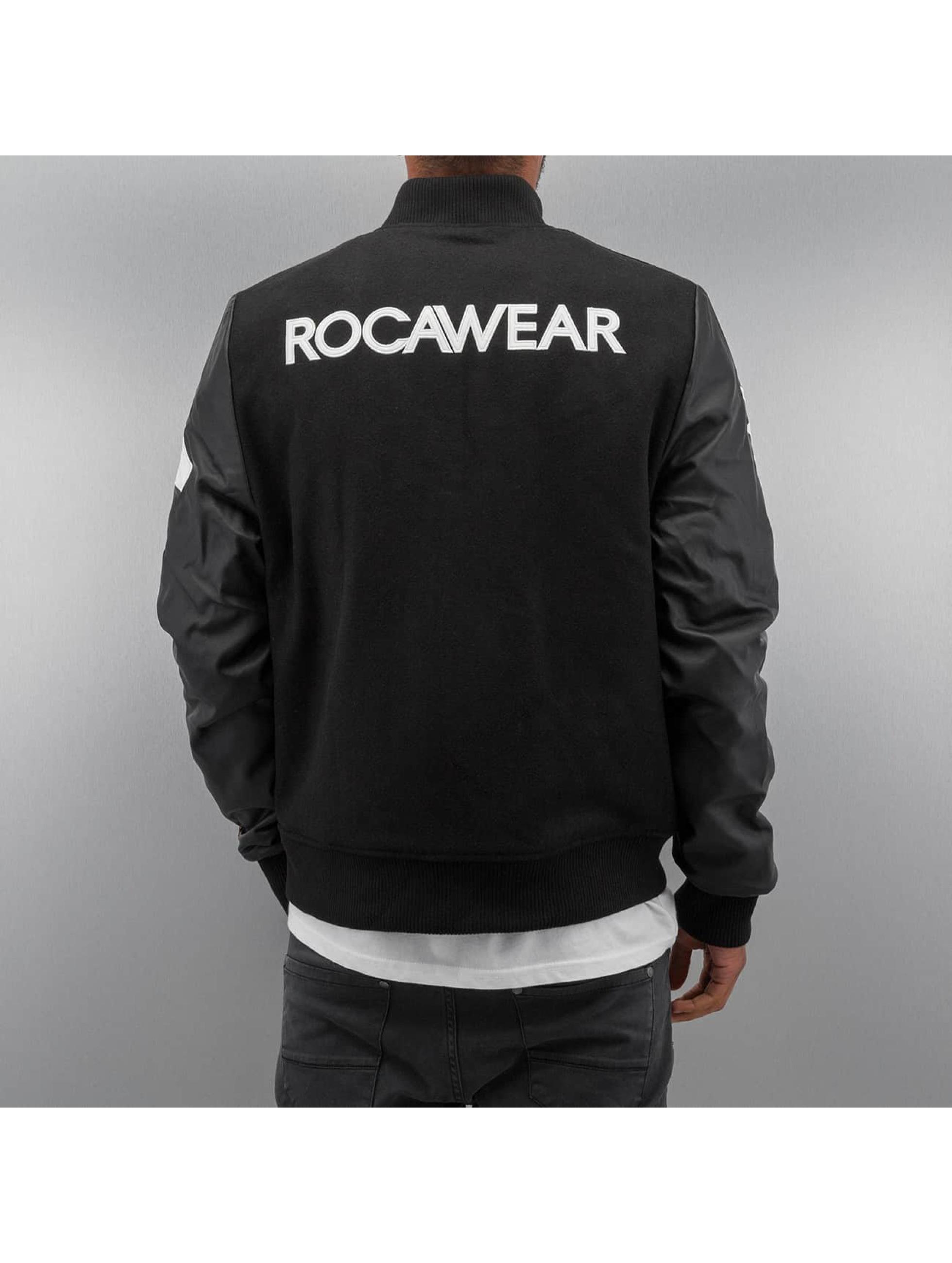 Rocawear College Jacket Baseball black