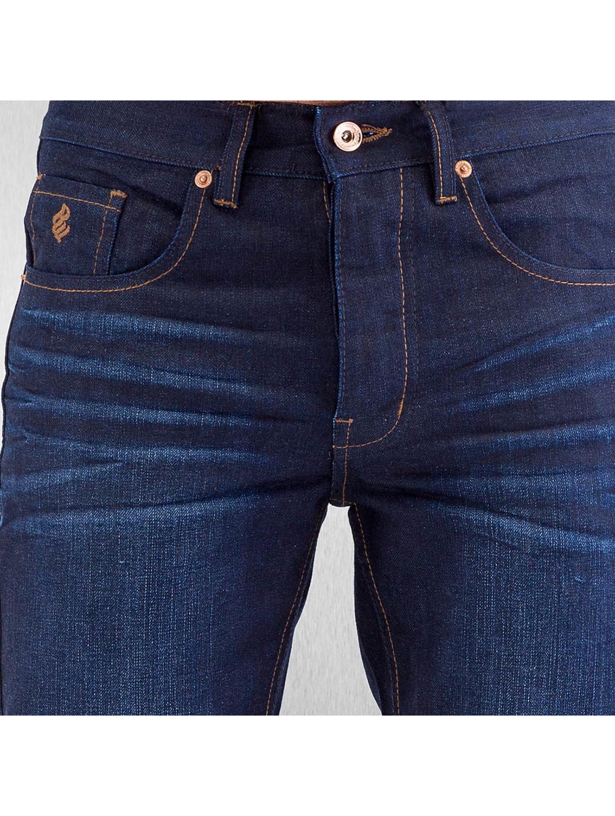 Rocawear Dżinsy straight fit Relaxed niebieski