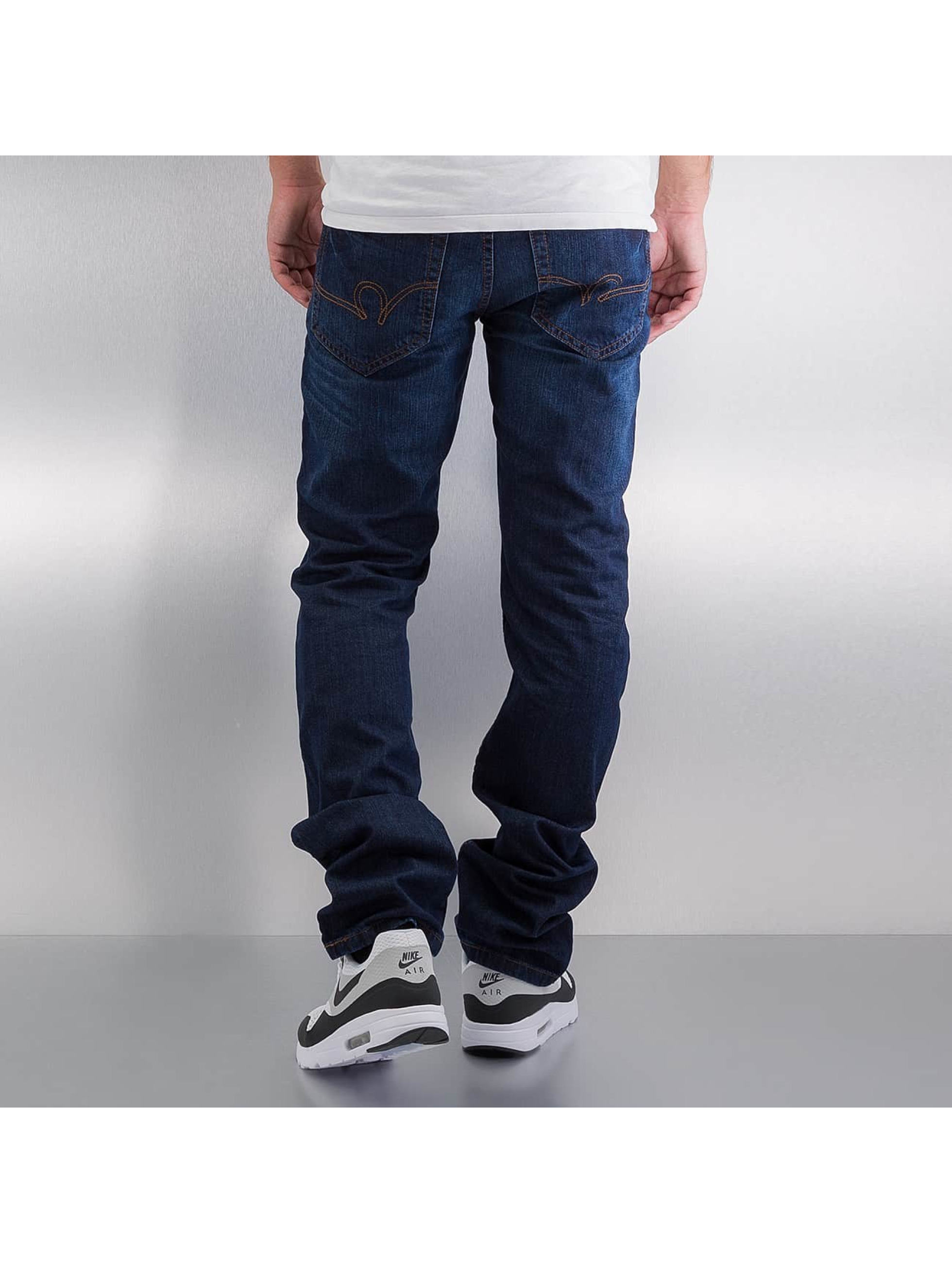 Rocawear Jean coupe droite Relaxed Fit bleu