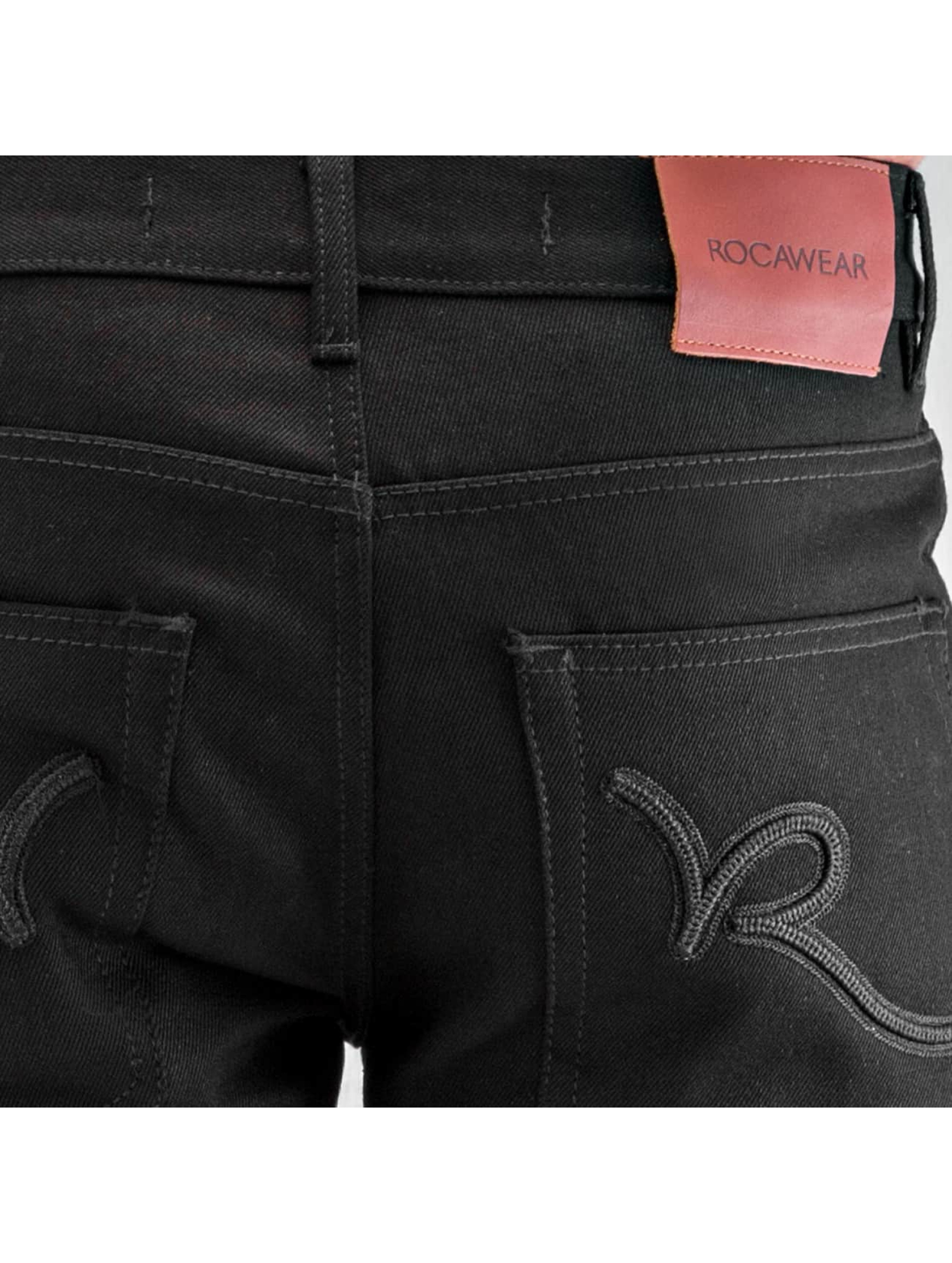 Rocawear Jean coupe droite Relaxed Fit noir