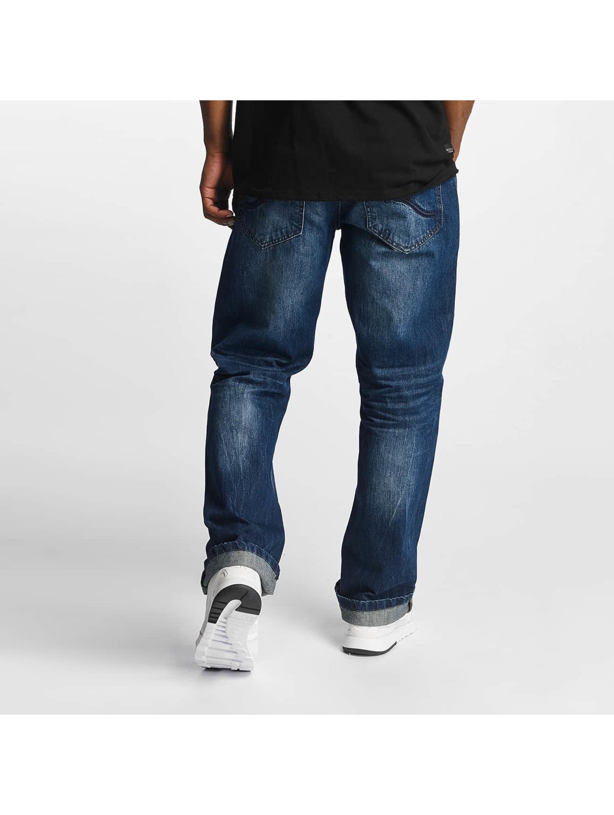 rocawear loose fit bleu homme jean large rocawear. Black Bedroom Furniture Sets. Home Design Ideas