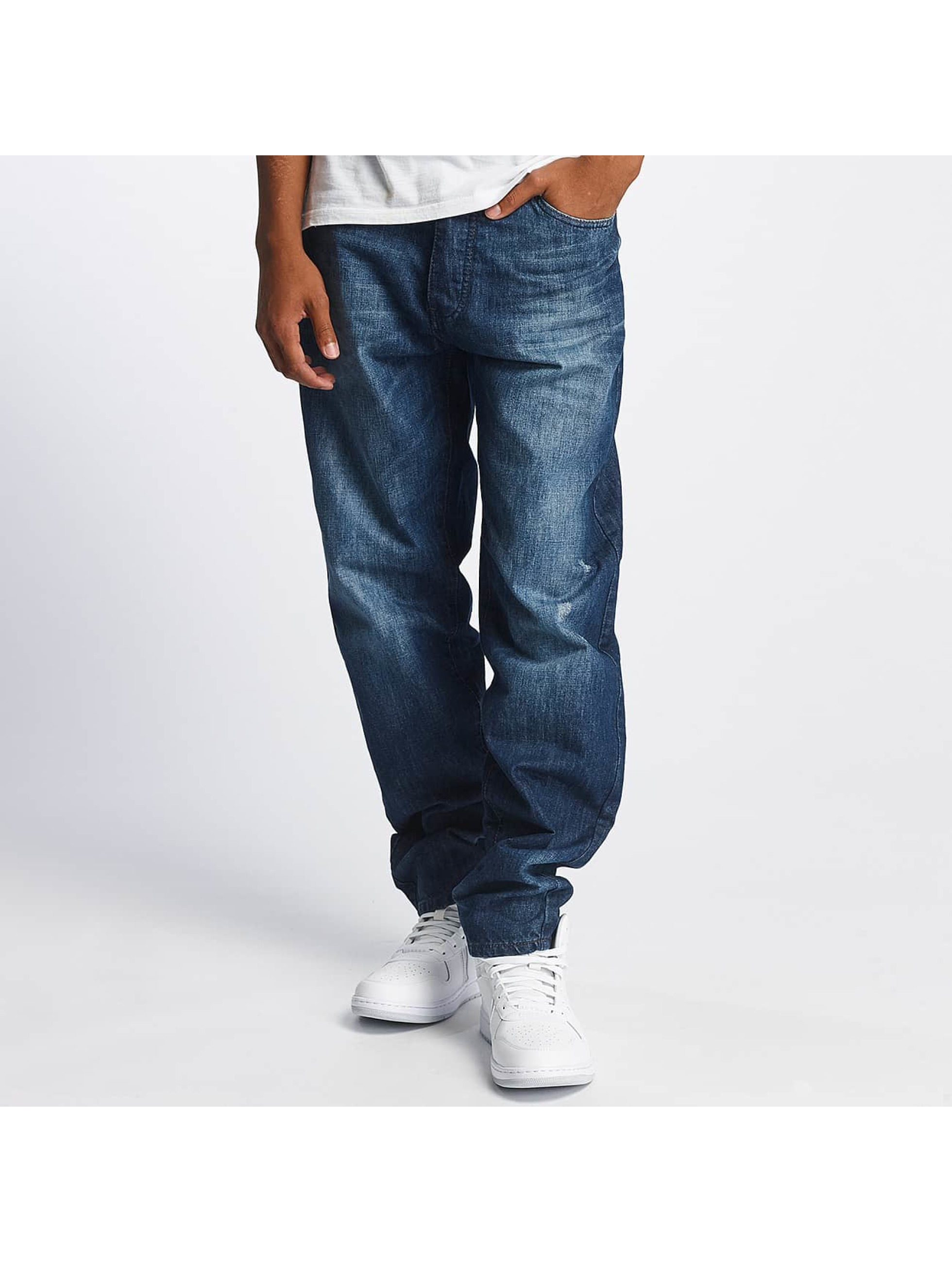 Rocawear Loose fit jeans Tapered Loose Fit blå