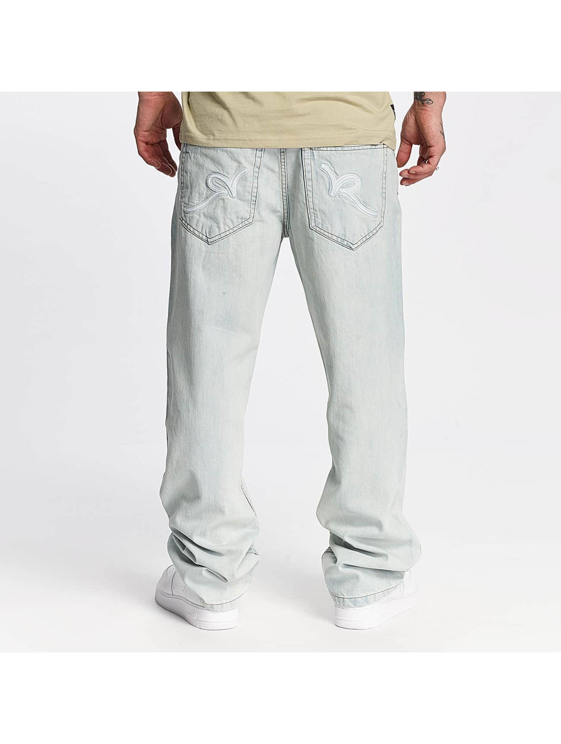 Rocawear Loose Fit Jeans Mirror blau