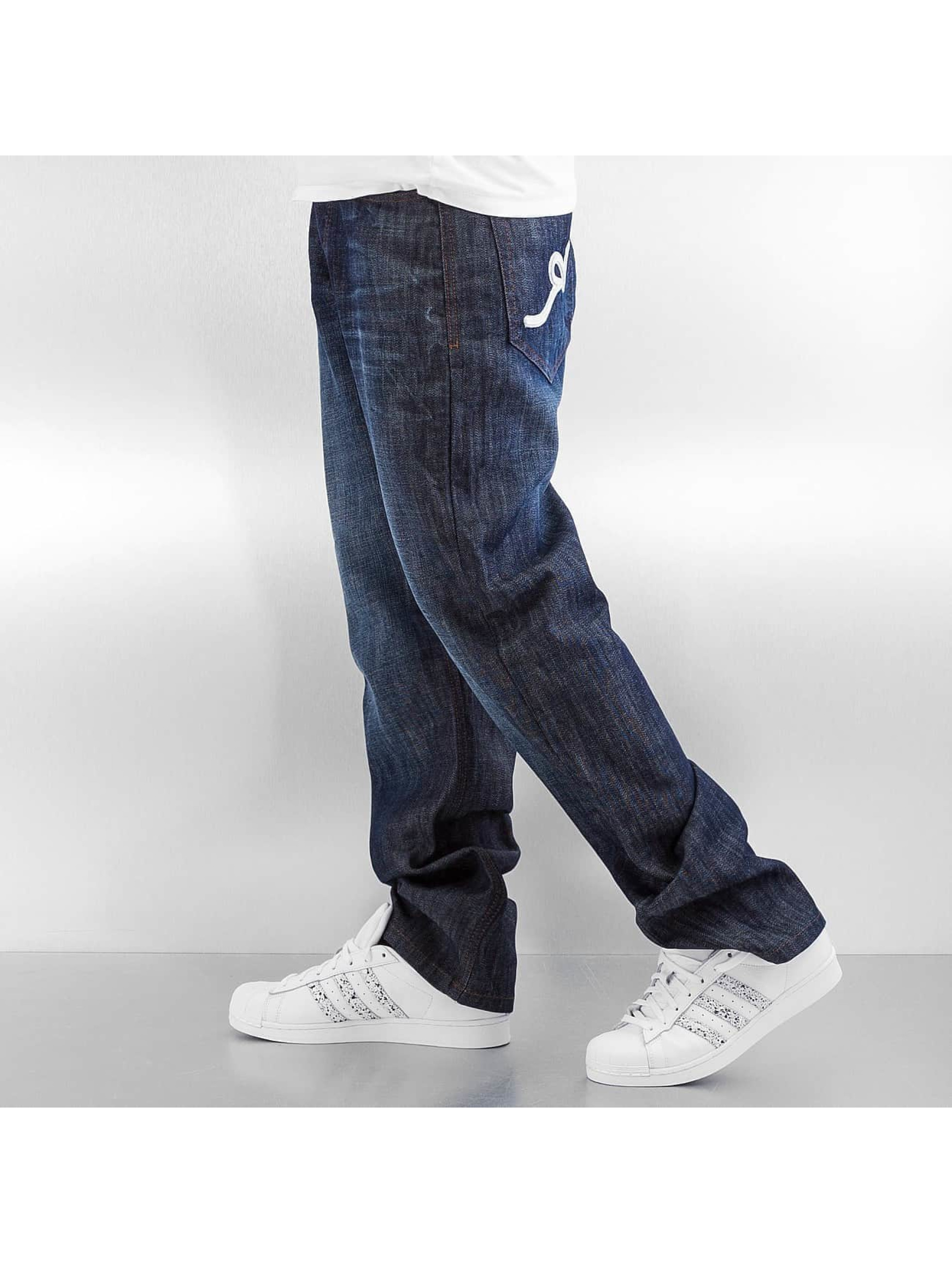 Rocawear Loose fit jeans Tap blauw