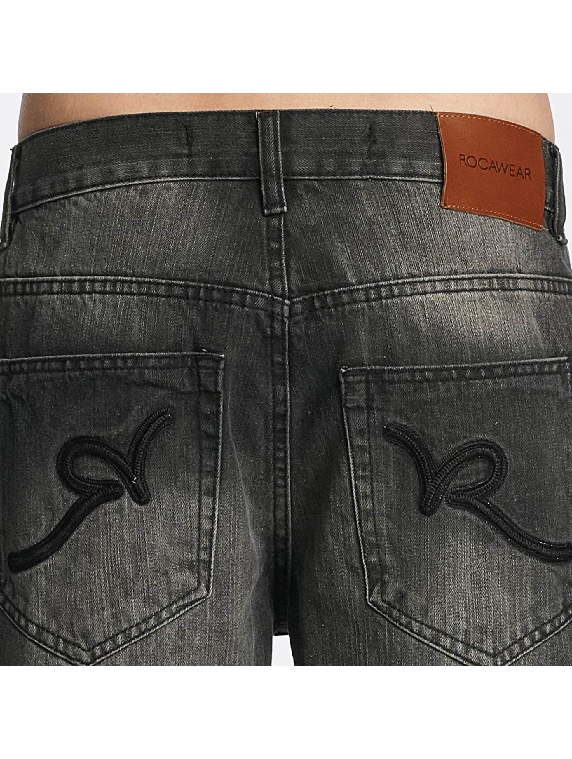 Rocawear Loose Fit Jeans Mirror grau