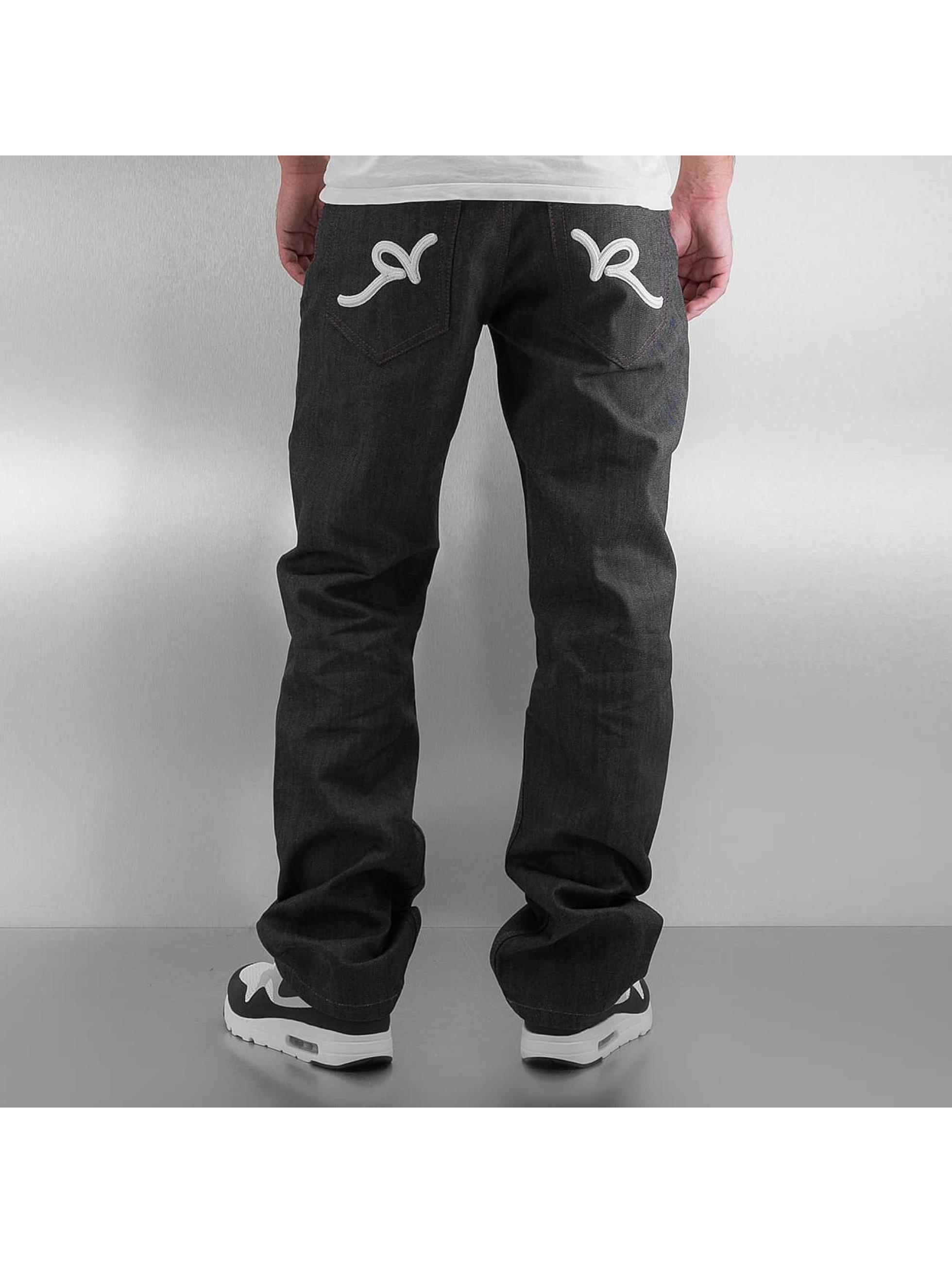 Rocawear Loose fit jeans Tap grijs