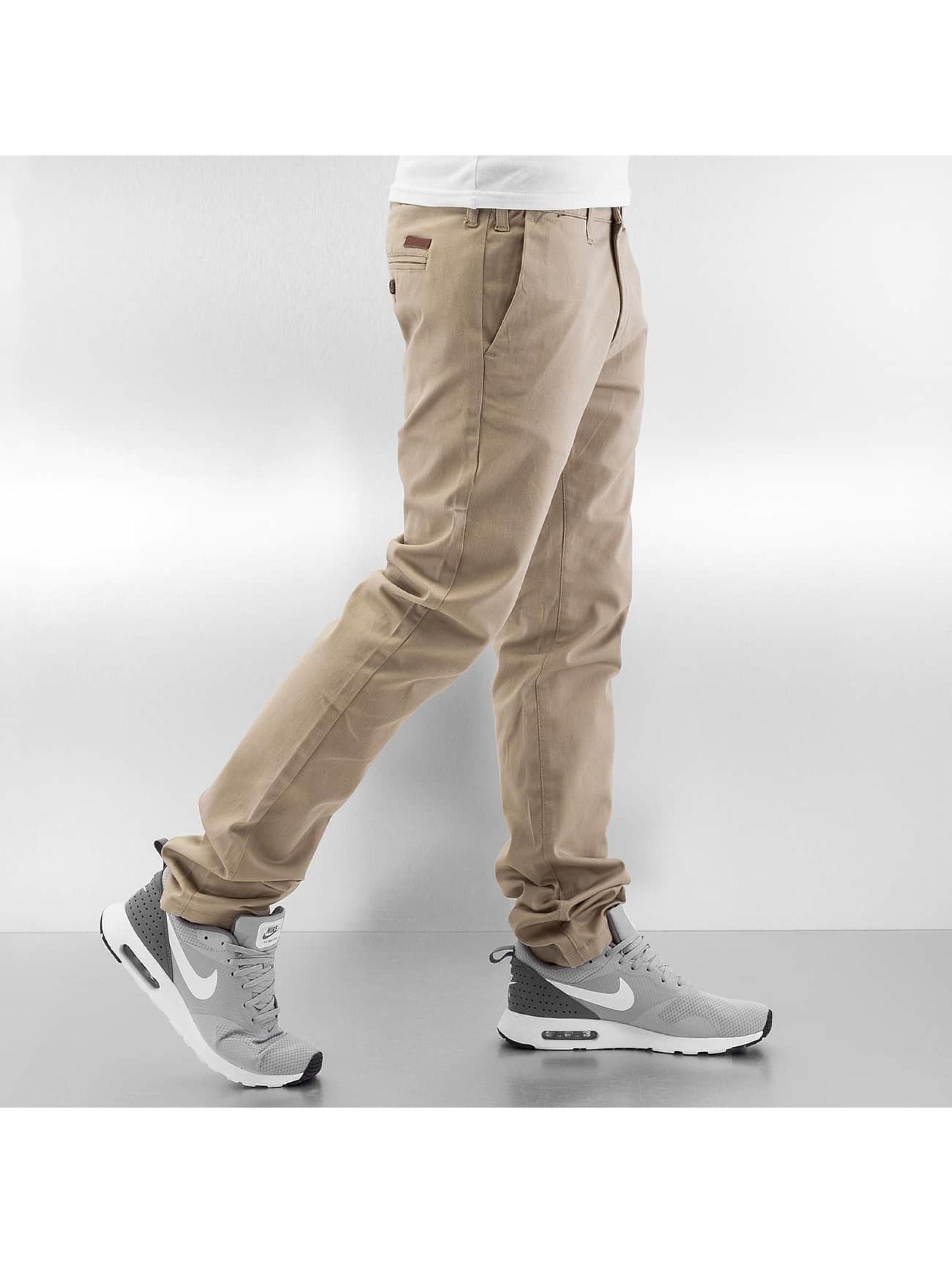 Rocawear Pantalon chino Slim Fit beige