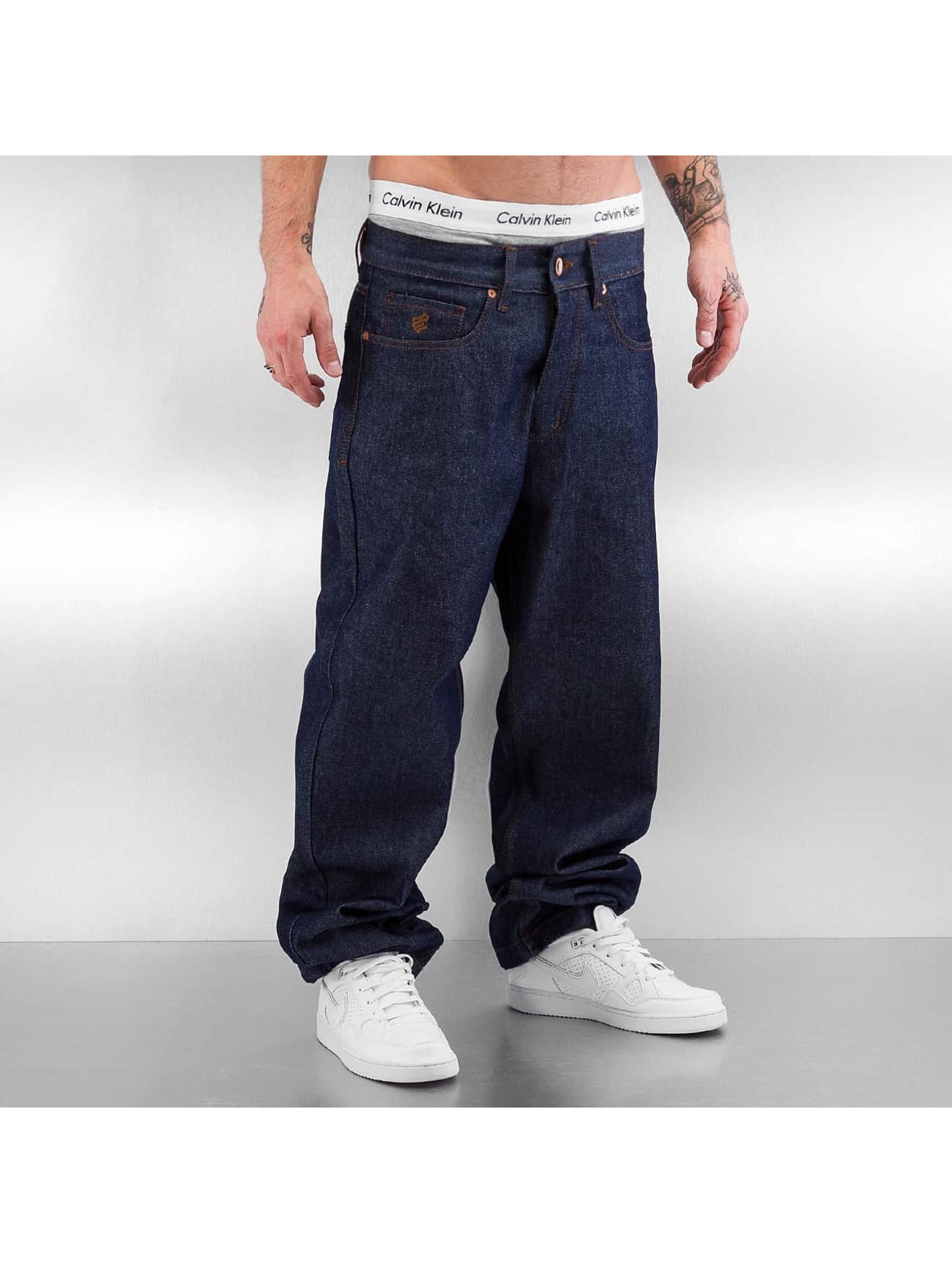 Rocawear Spodnie Baggy Baggy niebieski