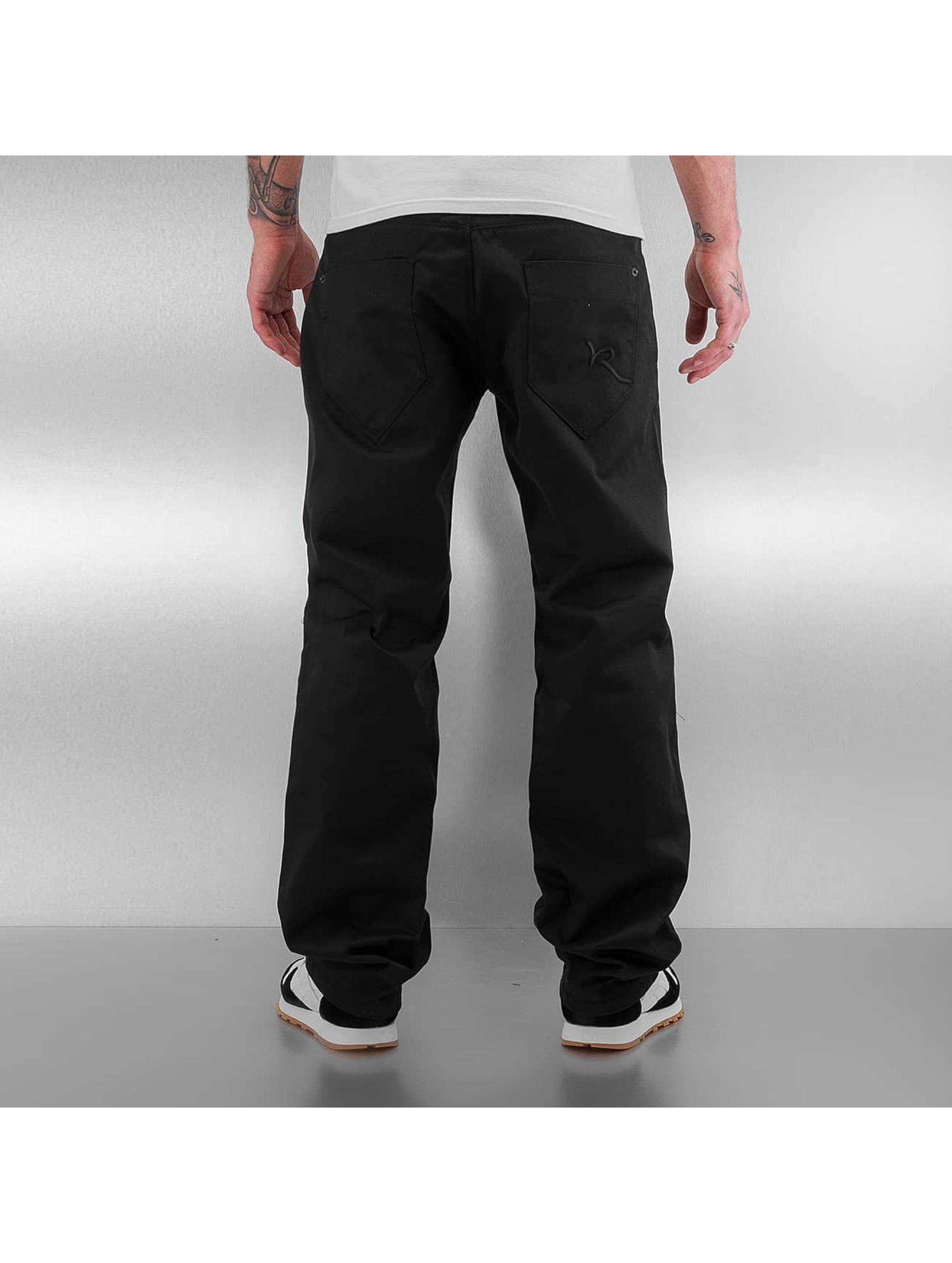 Rocawear Spodnie wizytowe Loose czarny