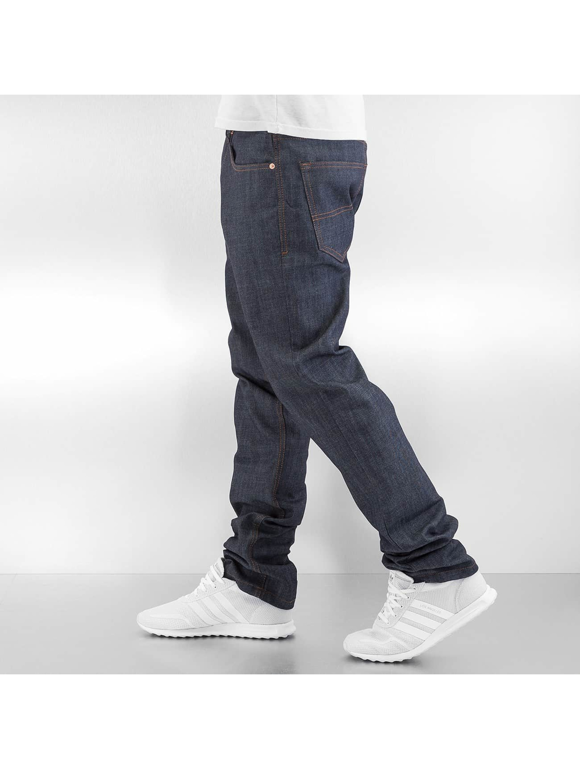 Rocawear Straight Fit farkut Leather Patch harmaa