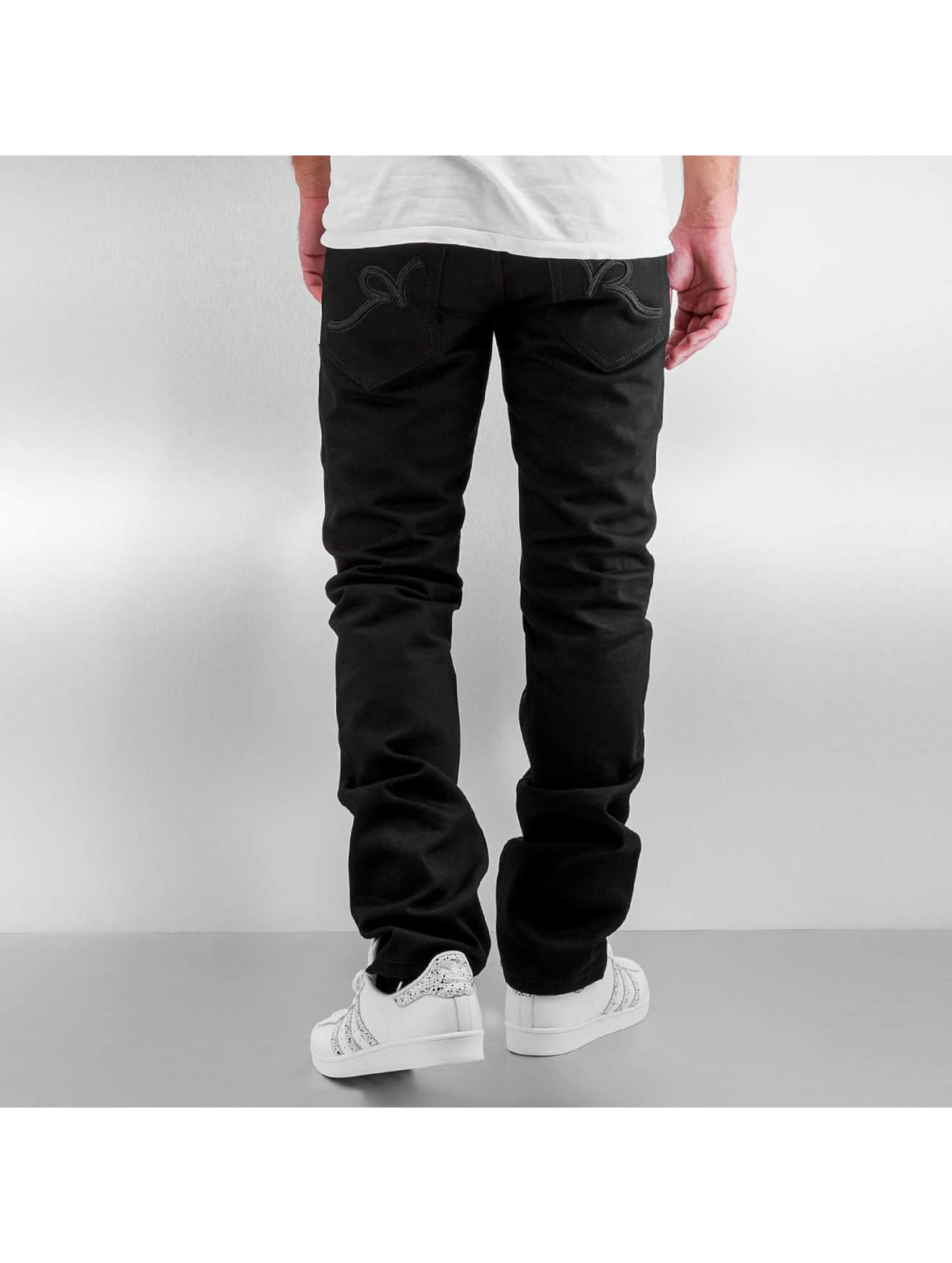 Rocawear Straight Fit farkut Relaxed Fit musta