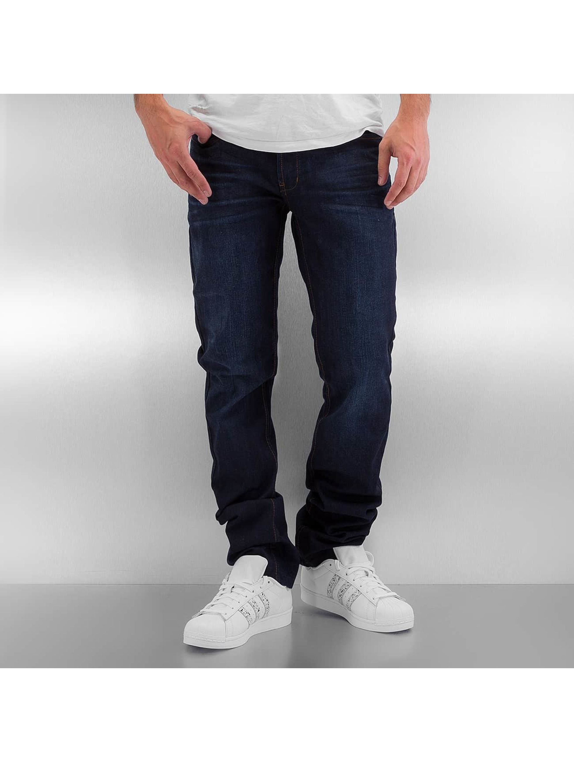 Rocawear Straight Fit Jeans Relaxed Fit blå