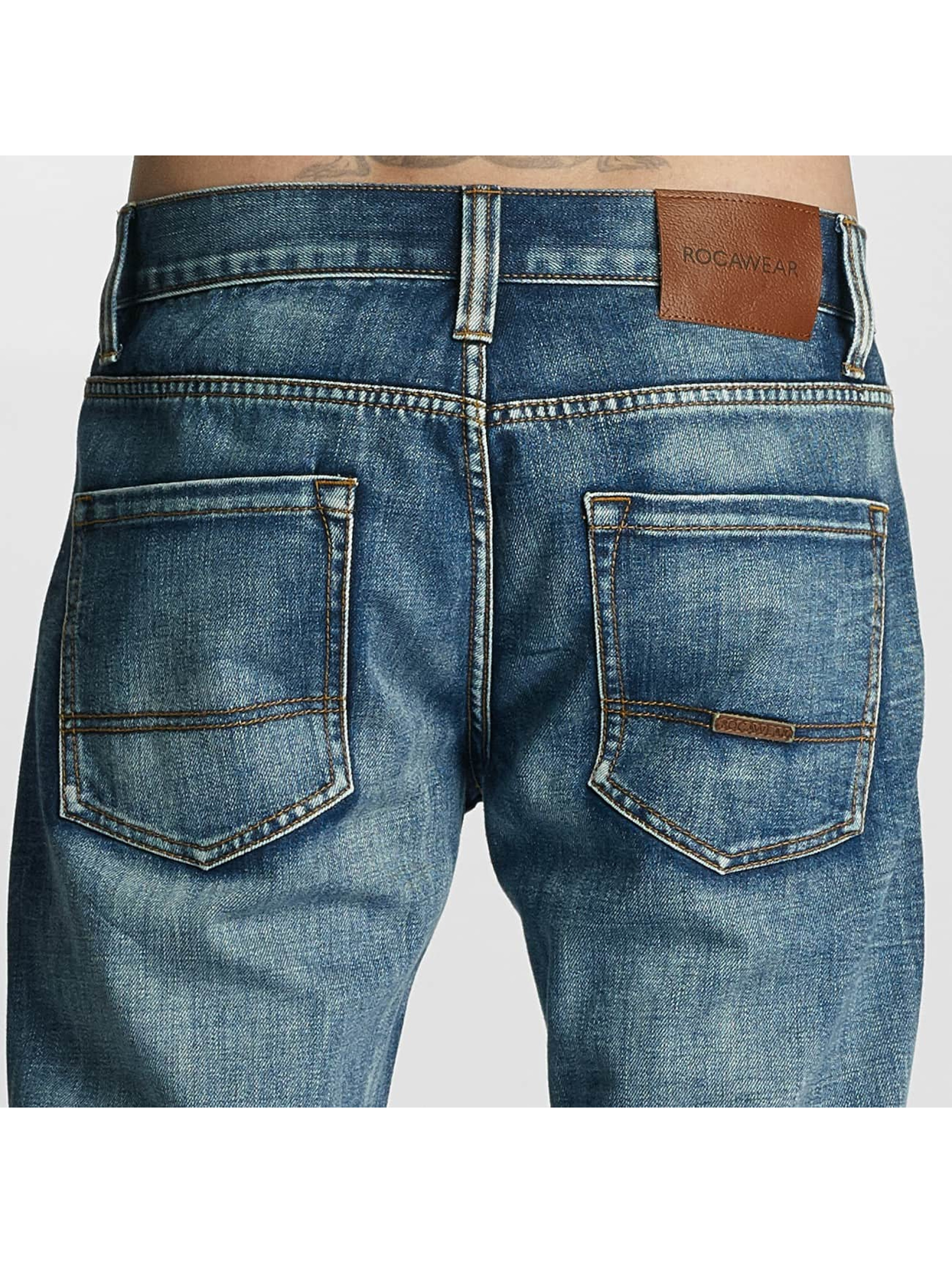Rocawear Straight Fit Jeans Relaxed Fit blue