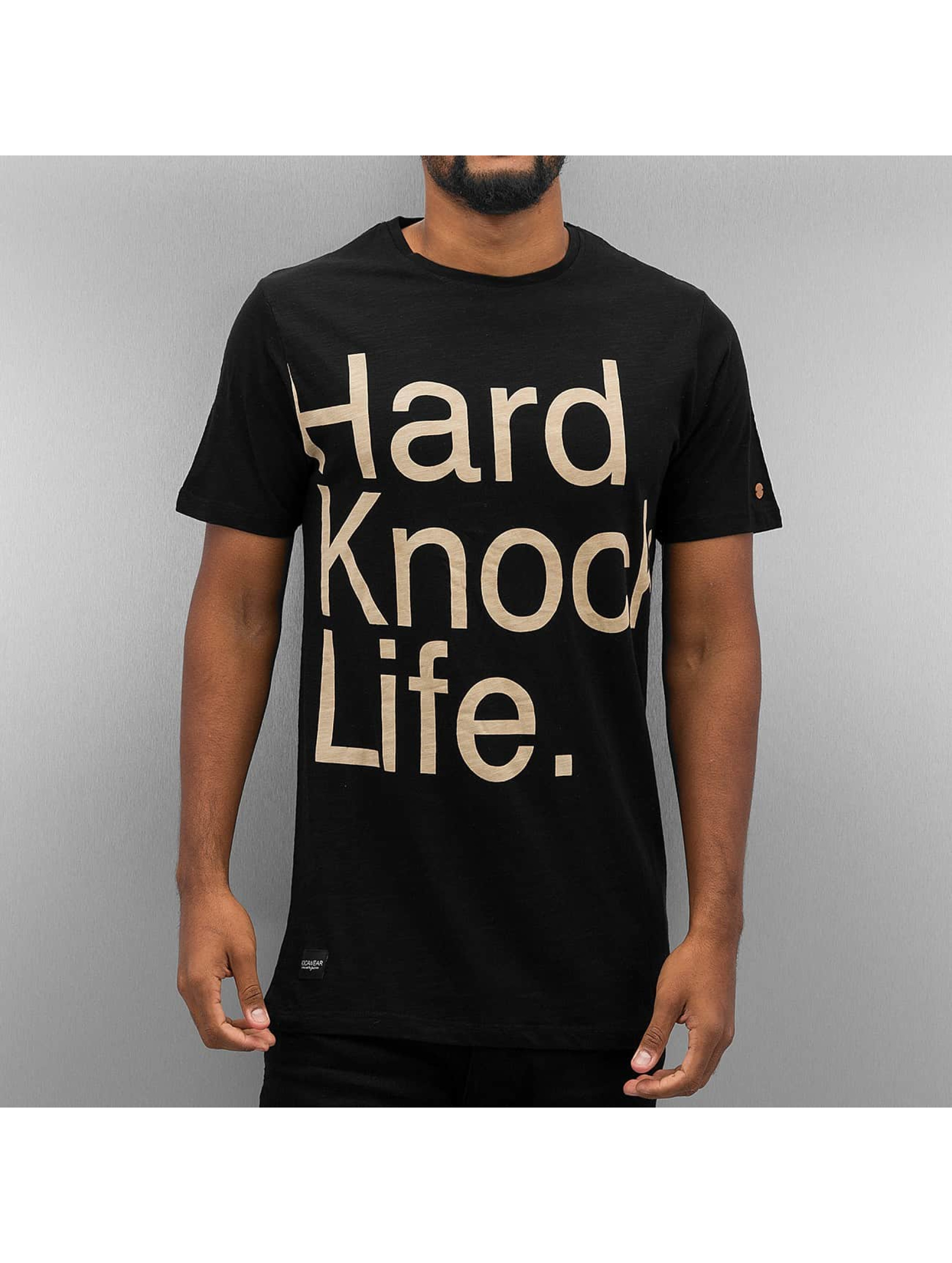 Rocawear T-paidat Hard Knock Life musta