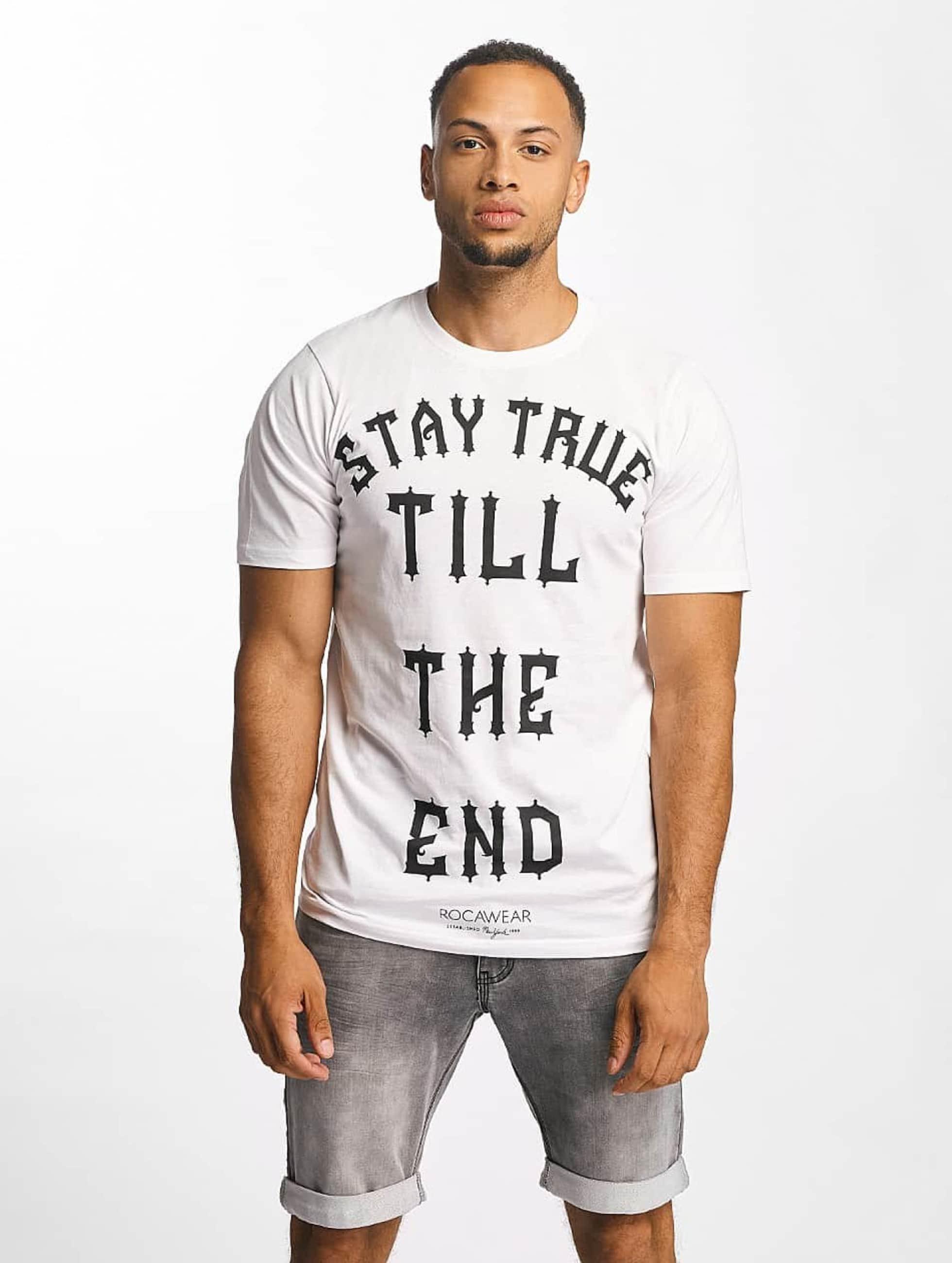 Rocawear heren t-shirt Stay True - wit