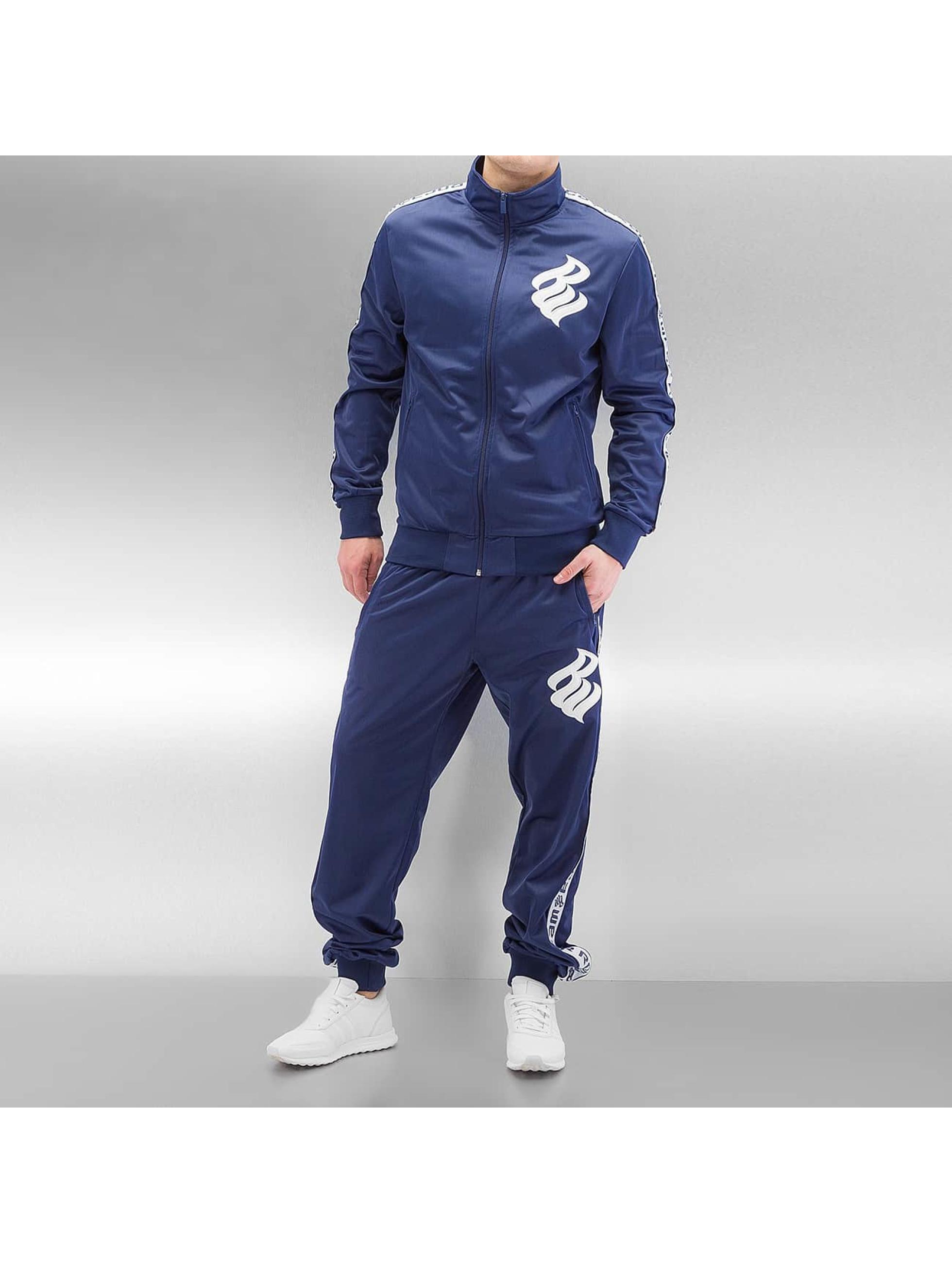 Rocawear heren trainingspak Logo - blauw