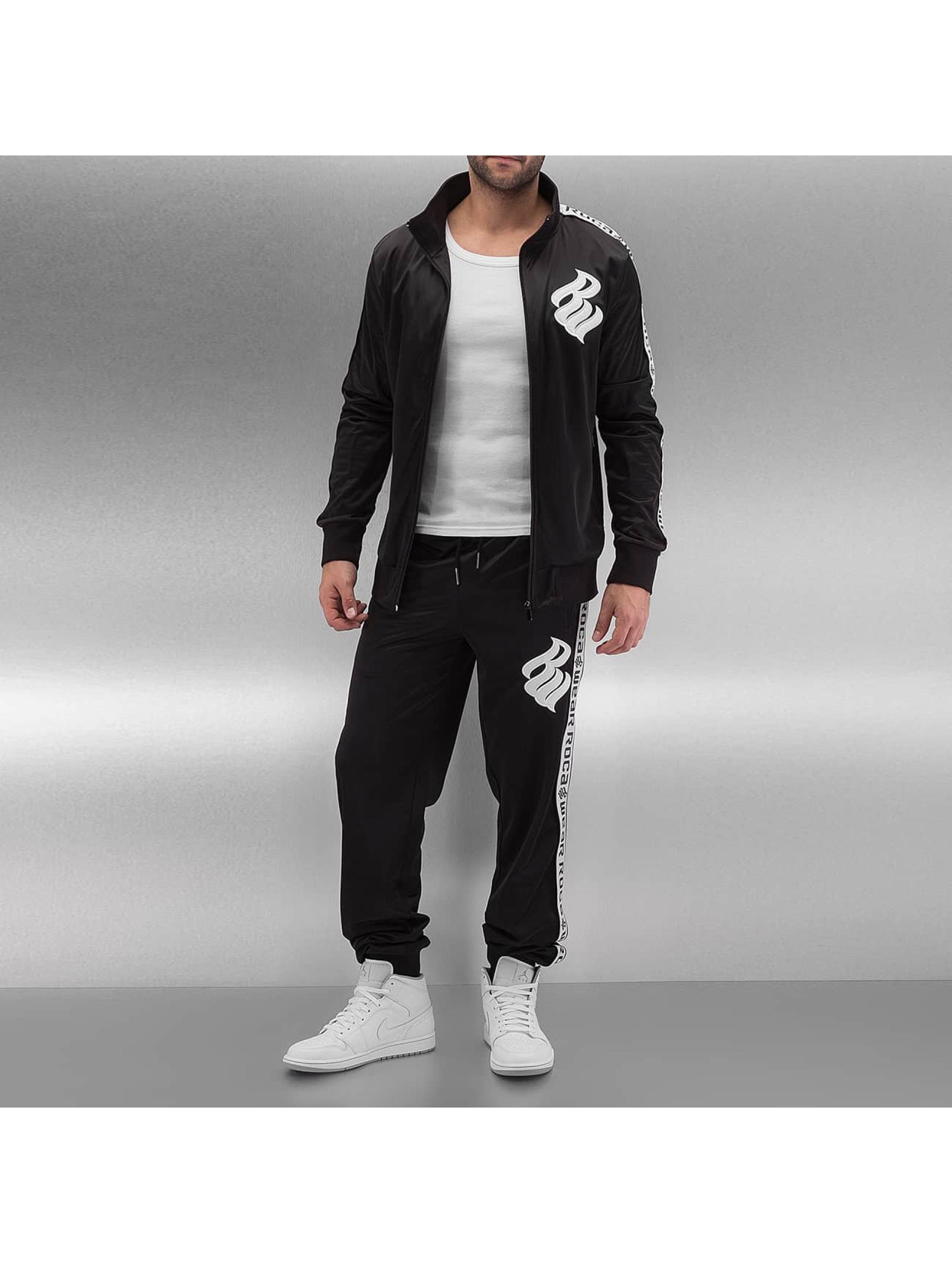 Rocawear heren trainingspak Logo - zwart