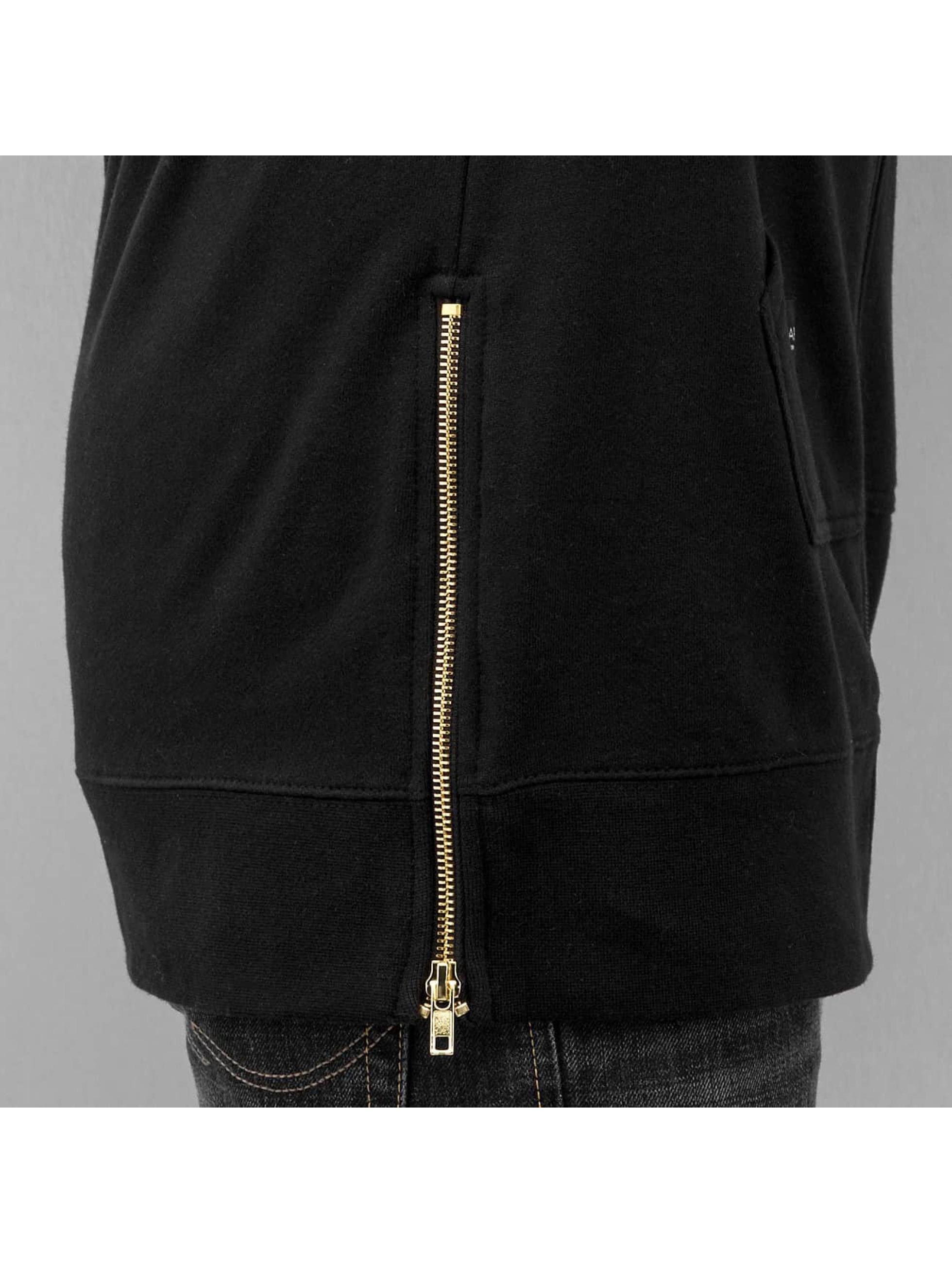 Rocawear Zip Hoodie Marble Long schwarz