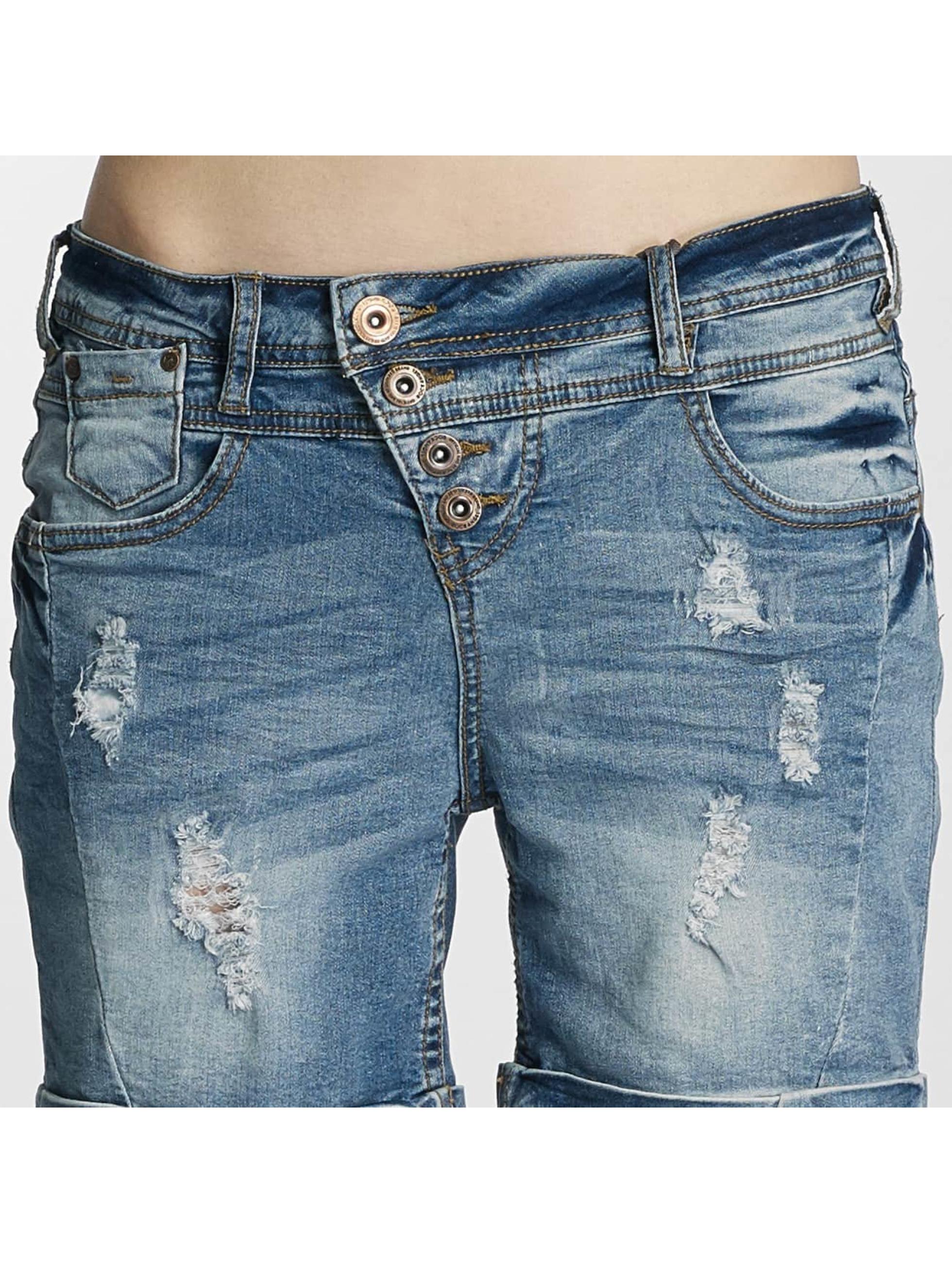 Rock Angel Shorts Hailey Bermuda blau
