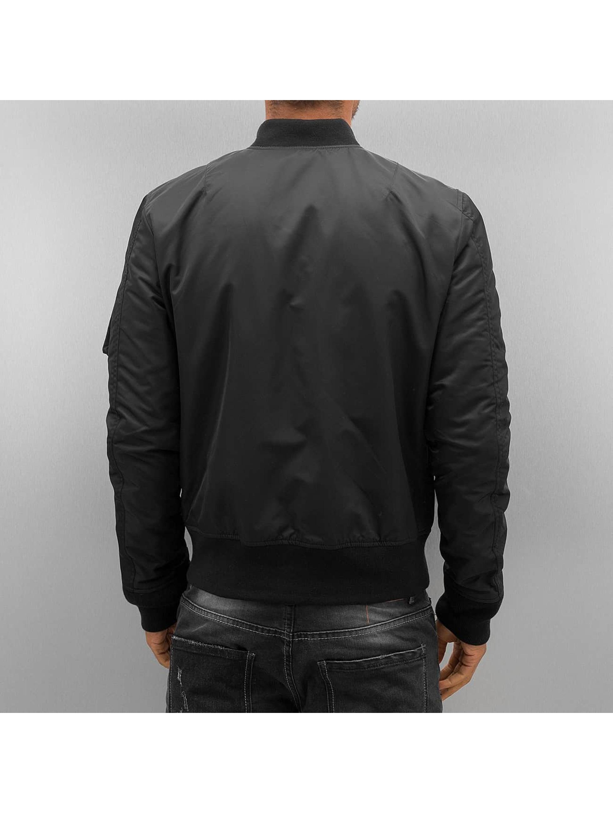 Schott NYC Куртка-бомбардир NYC черный