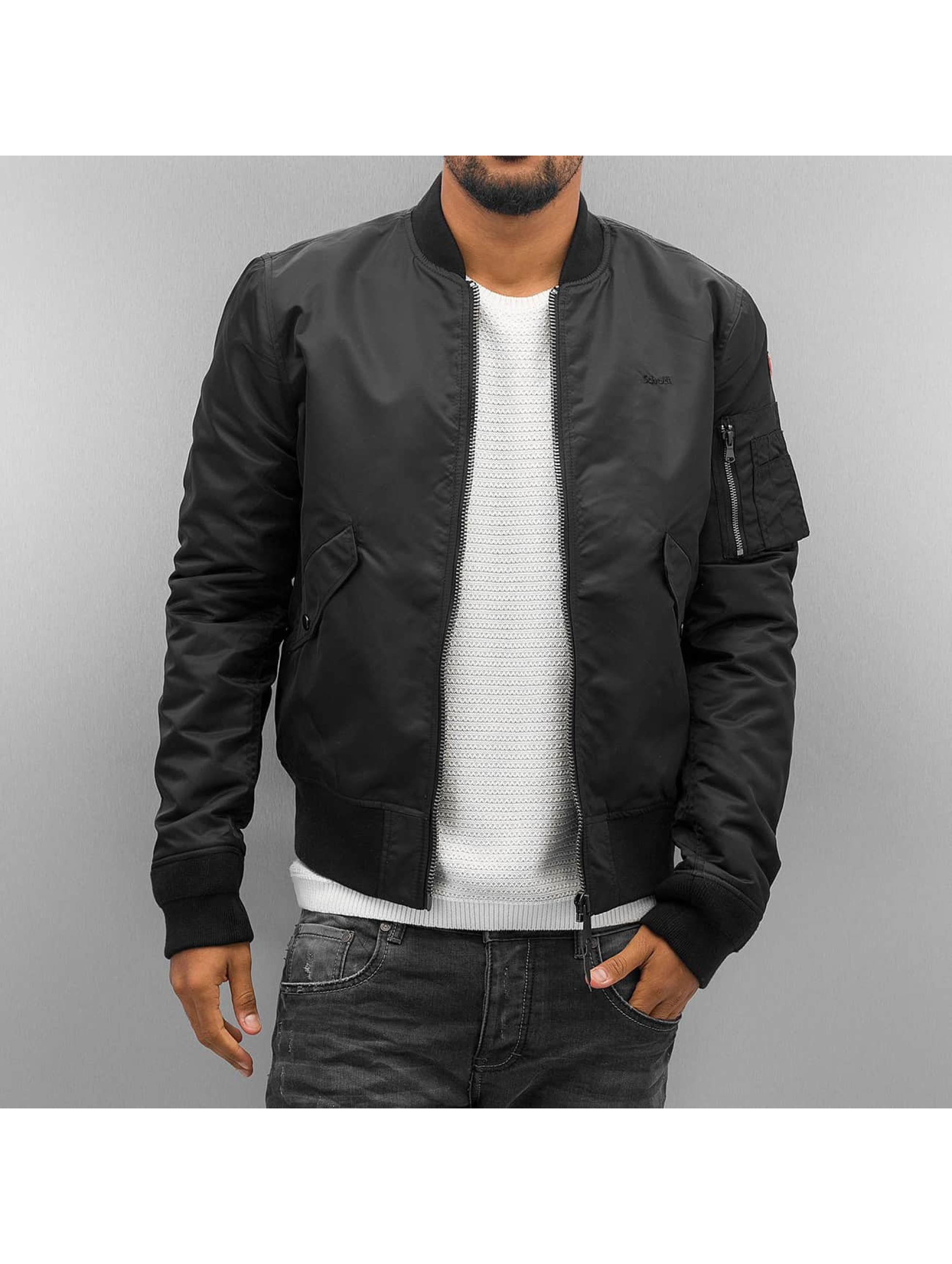 Schott NYC Bomber jacket NYC black