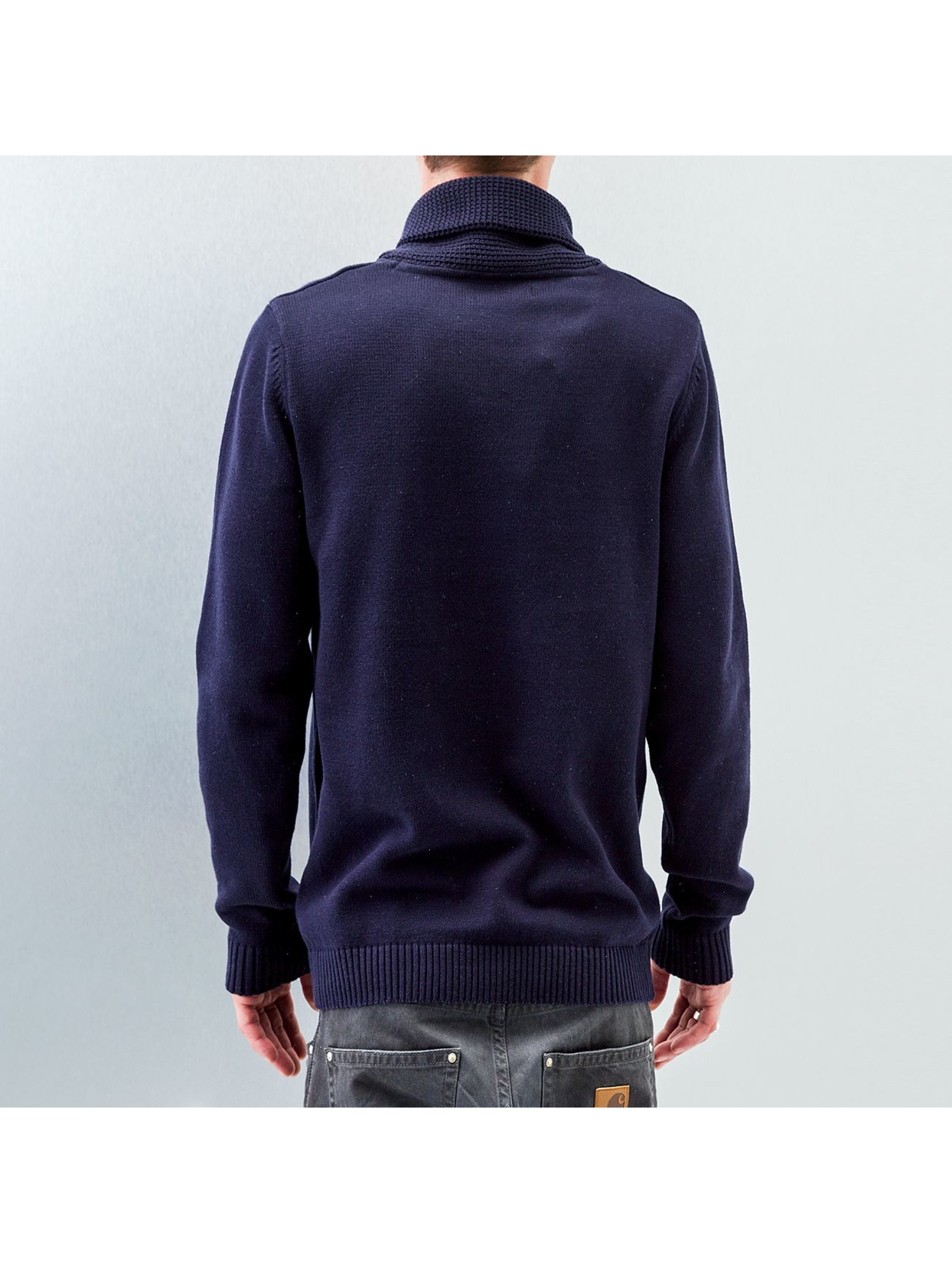 Selected Пуловер Chip синий