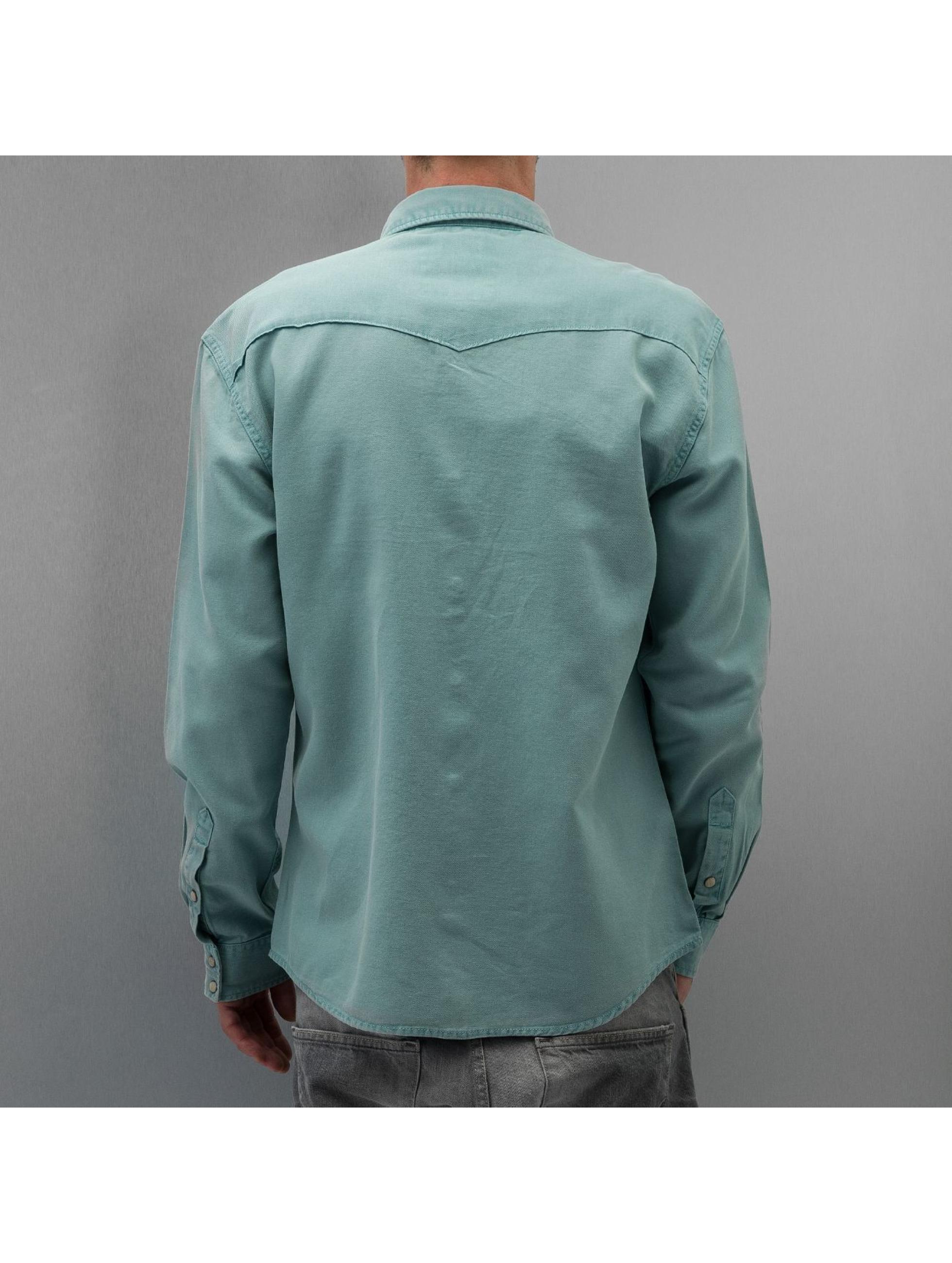 Selected Рубашка May Fair зеленый