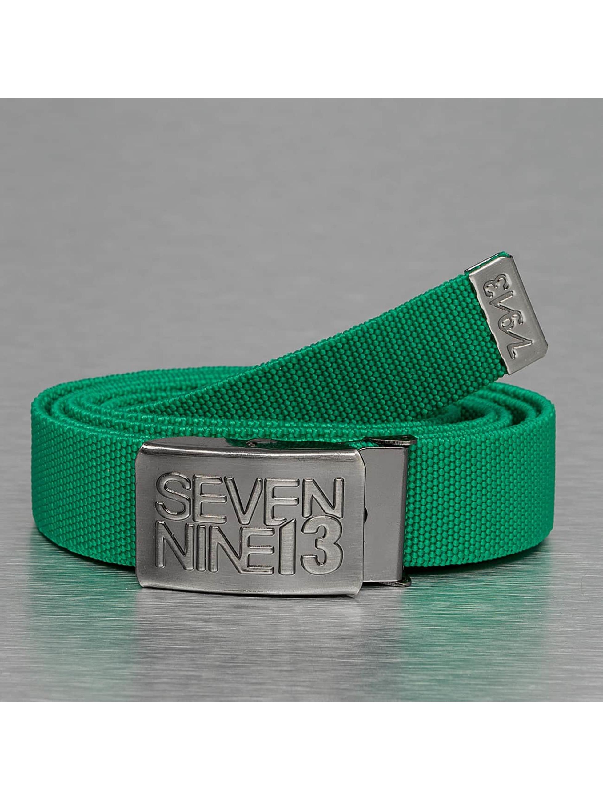 Seven Nine 13 Ремень Jaws Stretch зеленый