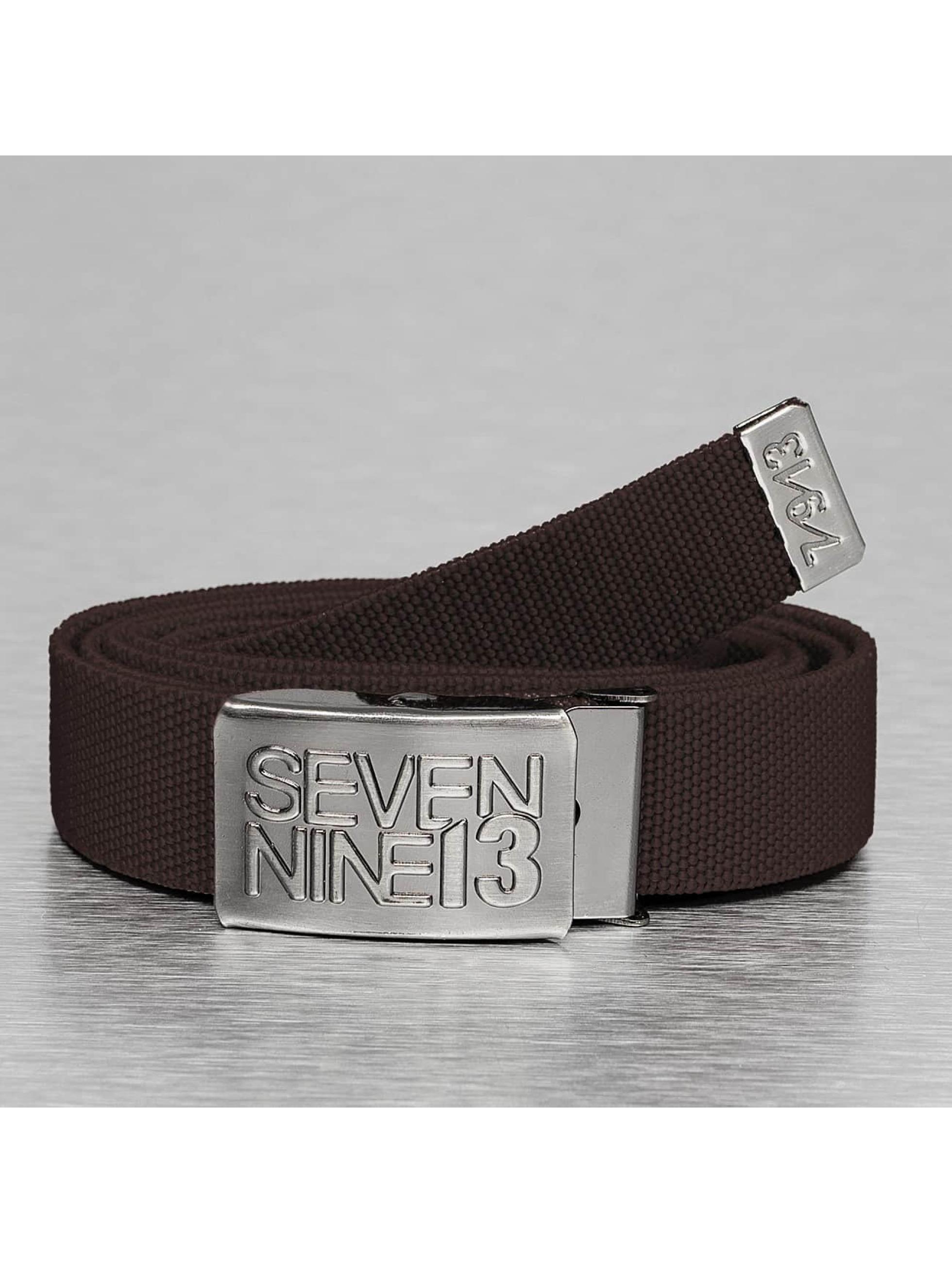 Seven Nine 13 Ремень Jaws Stretch коричневый