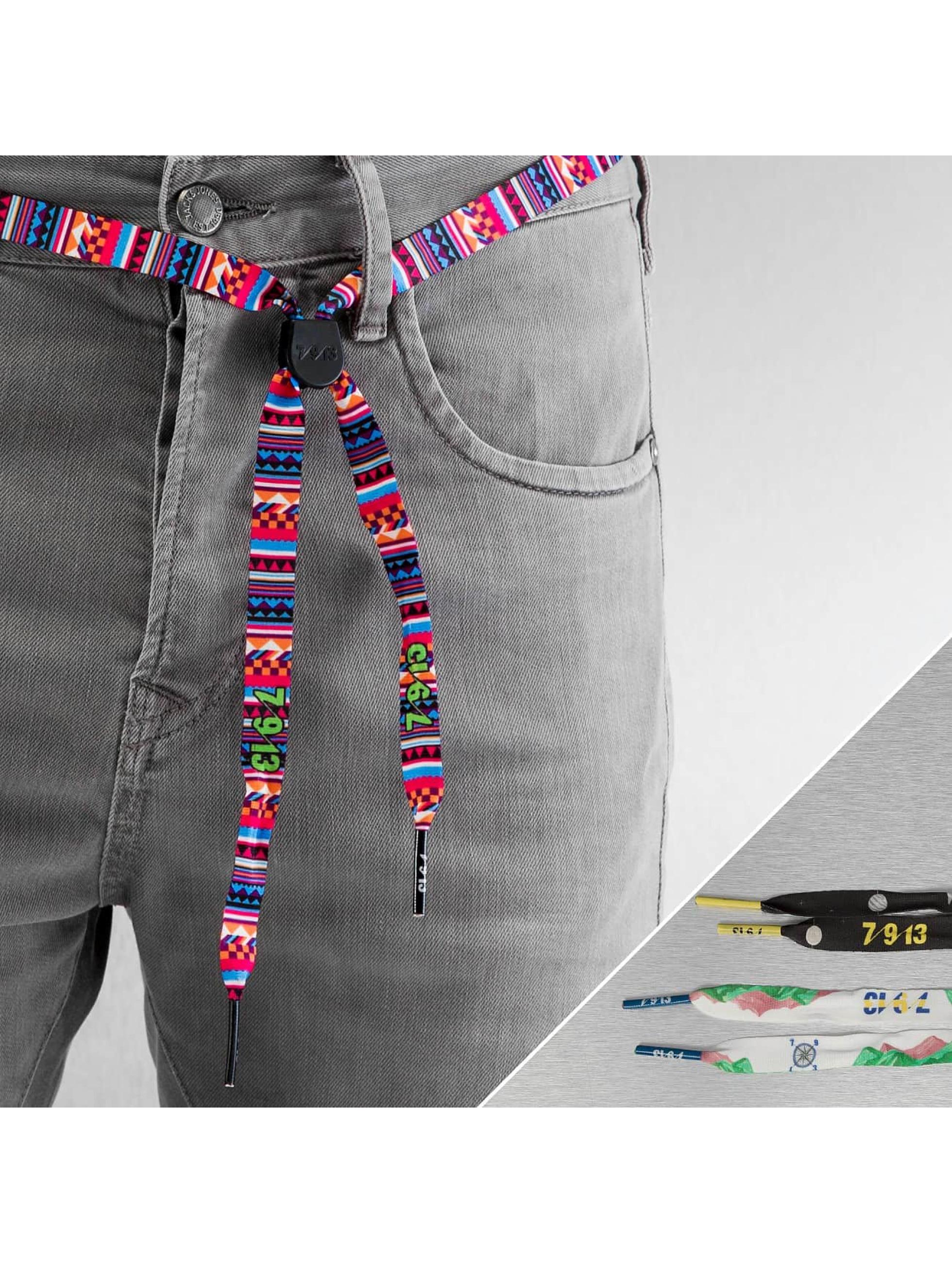 Seven Nine 13 Belts Albert Nyberg 3er Pack mangefarget
