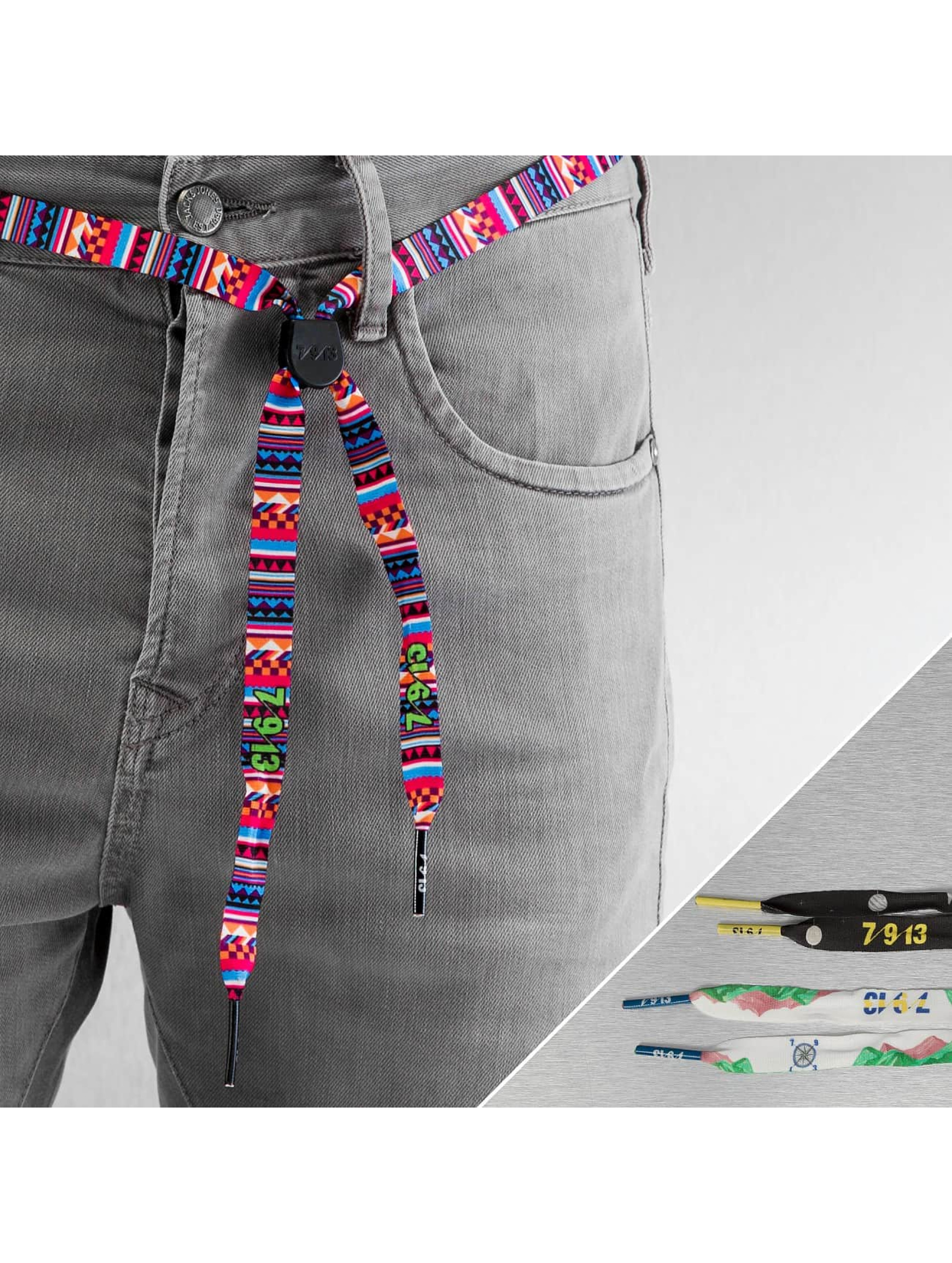 Seven Nine 13 Ceinture Albert Nyberg 3er Pack multicolore